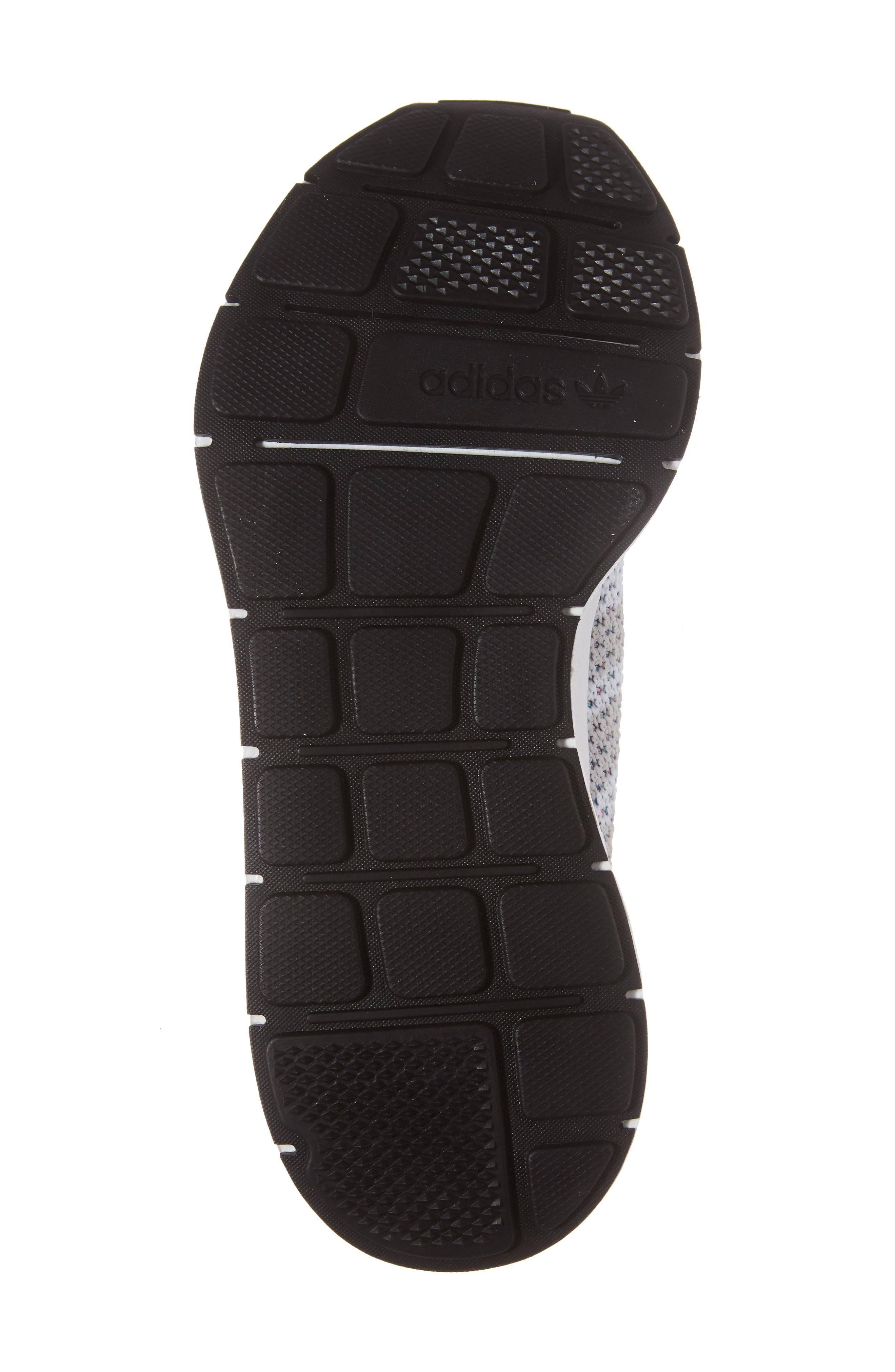 Swift Run Primeknit Training Shoe,                             Alternate thumbnail 6, color,                             White/ Off White/ Core Black