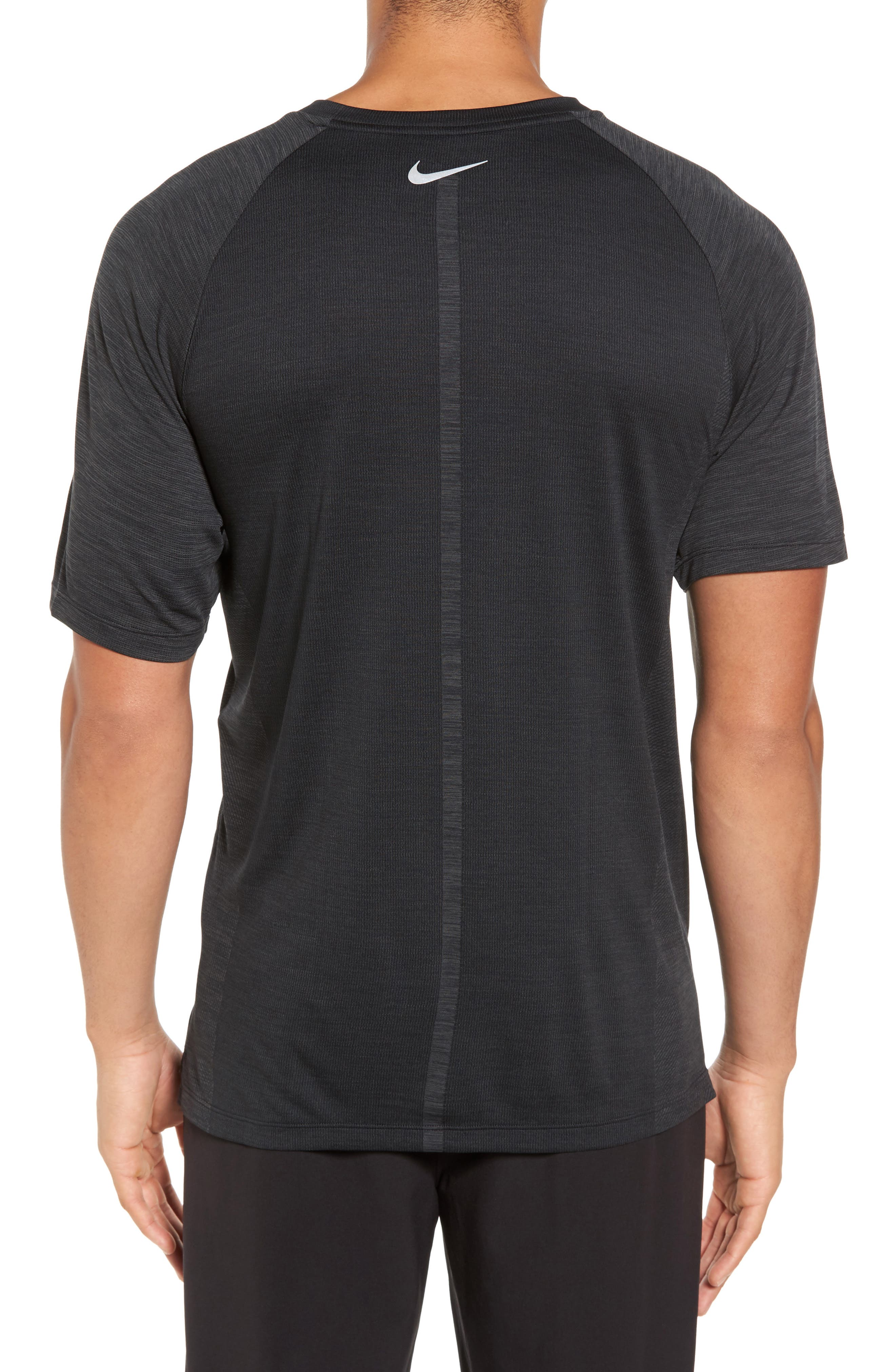 Dry Medalist Running Top,                             Alternate thumbnail 2, color,                             Anthracite/ Black