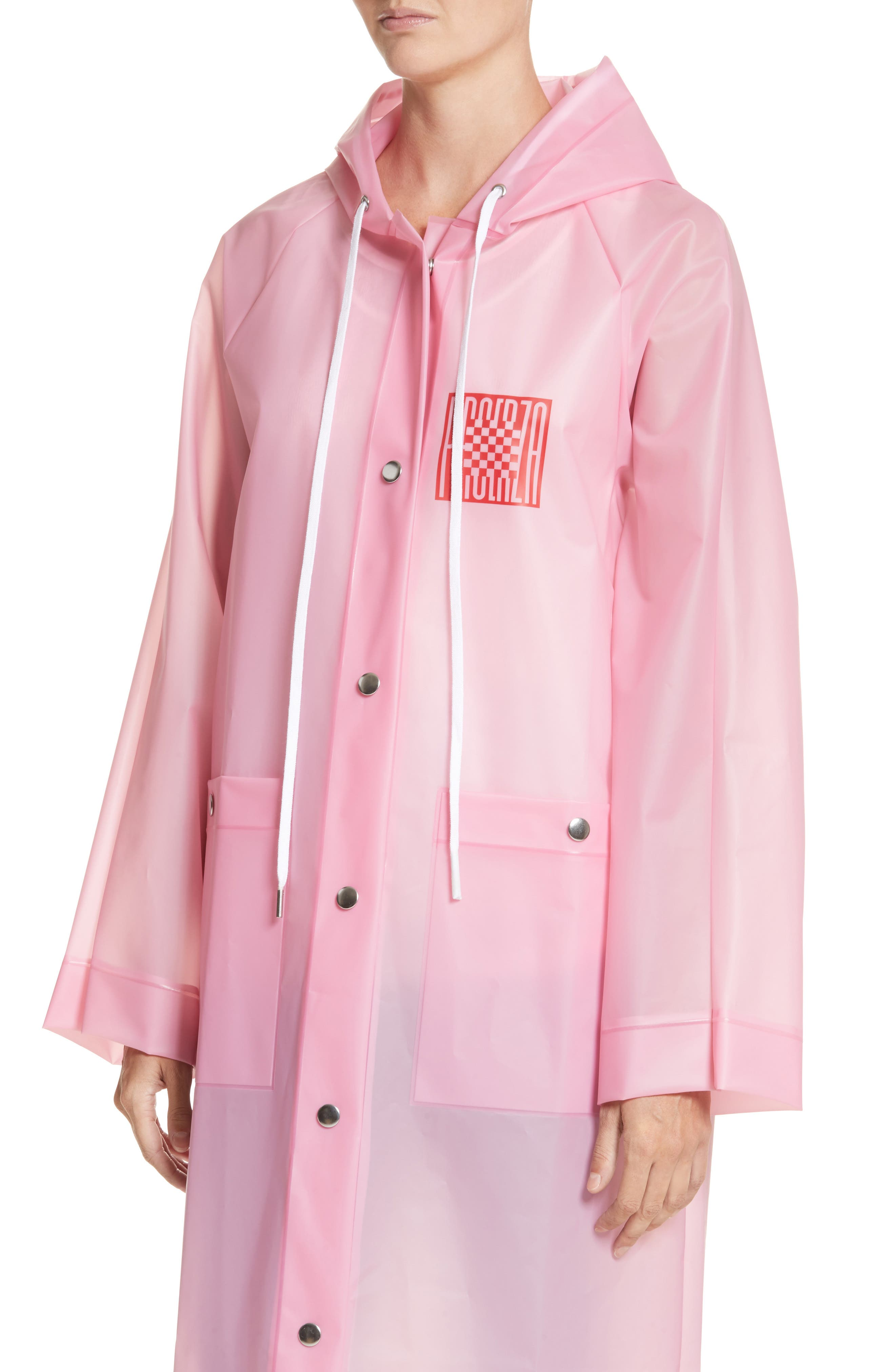 Alternate Image 4  - Proenza Schouler PSWL Graphic Raincoat