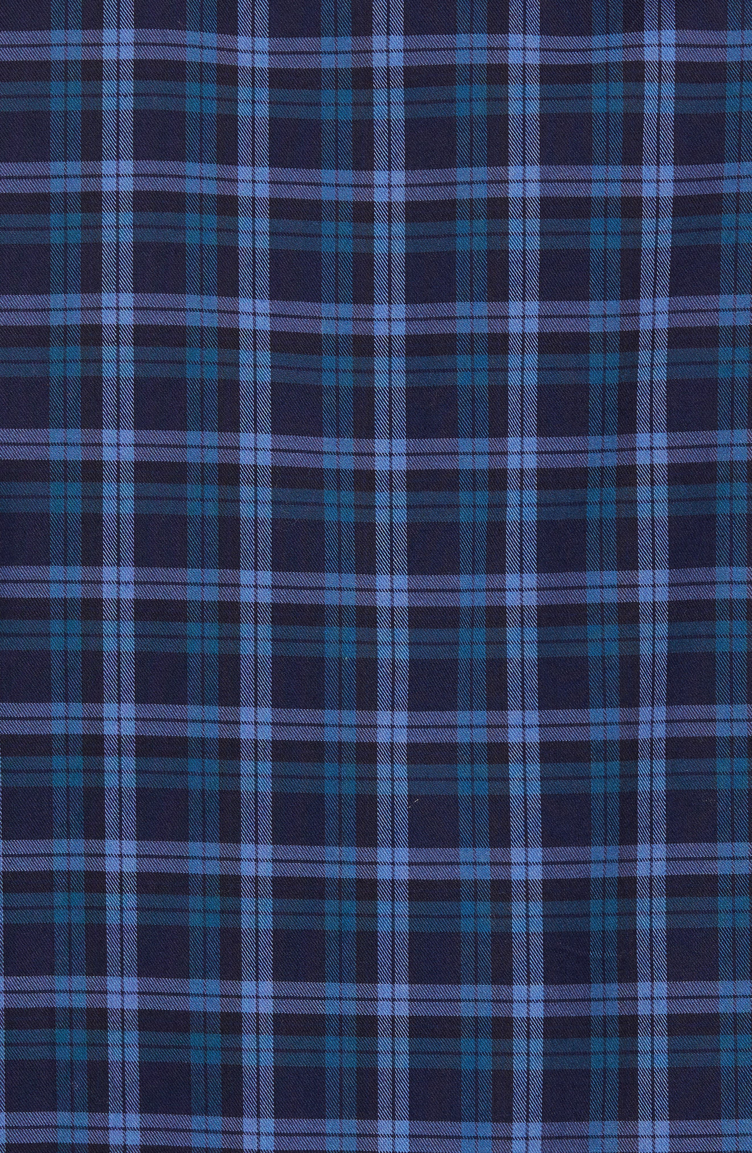 Alternate Image 5  - Ledbury The Blue Goode Slim Fit Plaid Sport Shirt