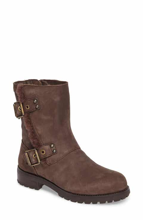12cf2e5d4a3 UGG® Niels Water Resistant Genuine Shearling Boot (Women)