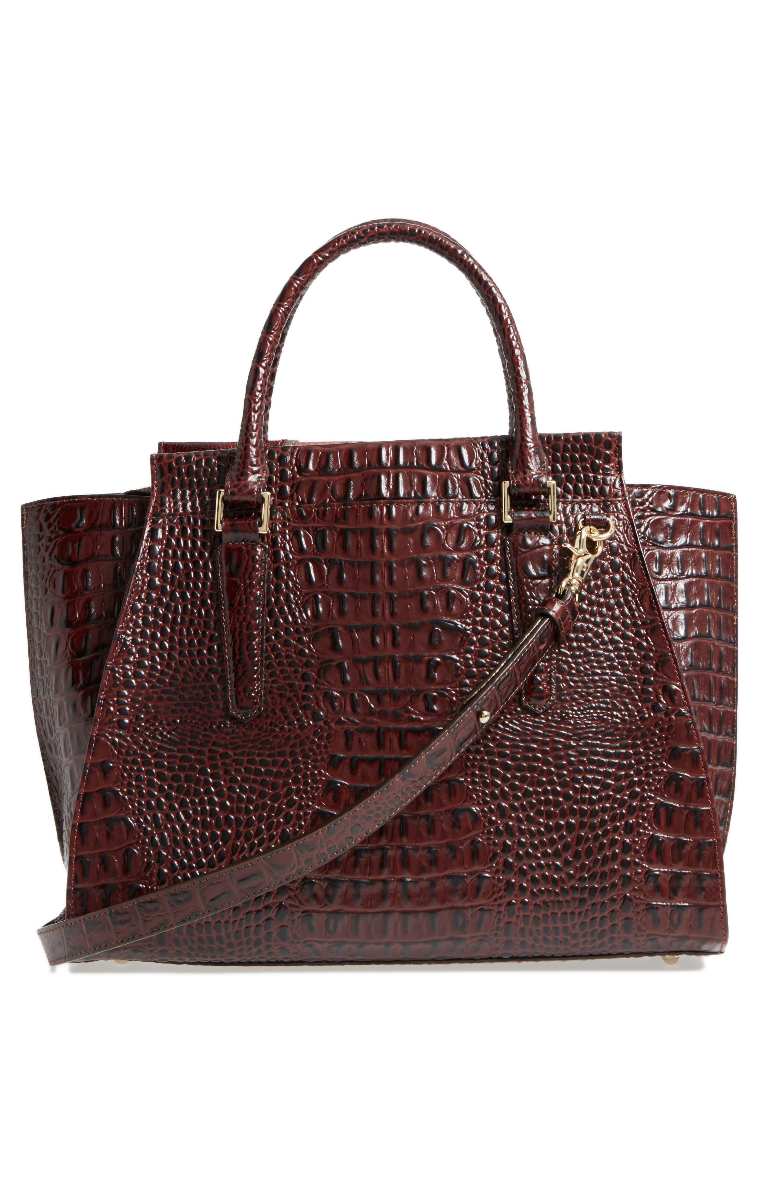 Alternate Image 3  - Brahmin Red Verona - Priscilla Leather Satchel