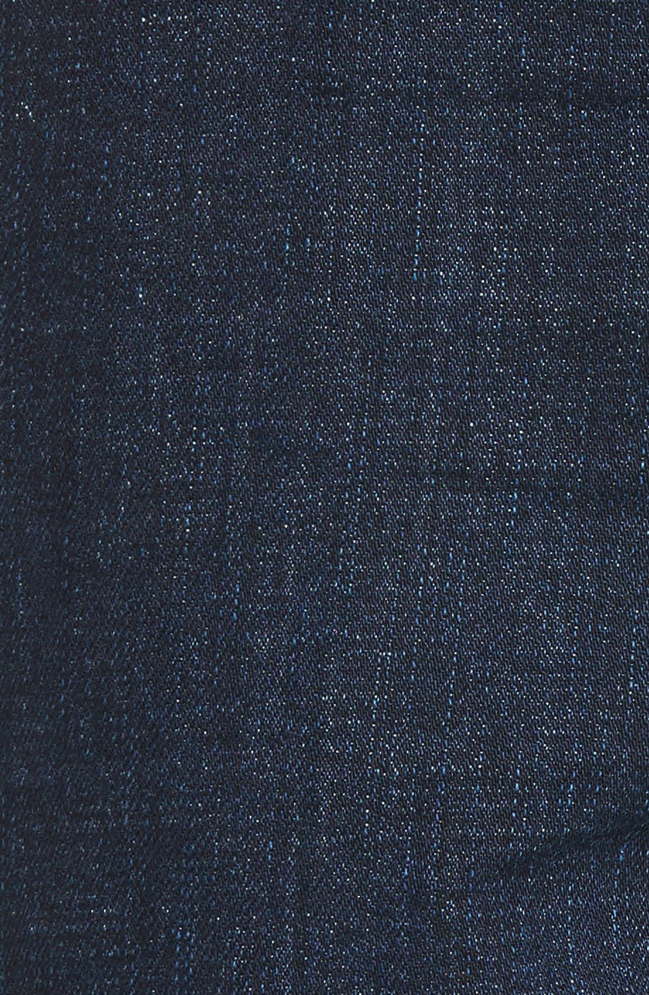 Alternate Image 5  - Treasure & Bond Bond Loose Fit Skinny Ankle Jeans (Granite Dark Vintage)