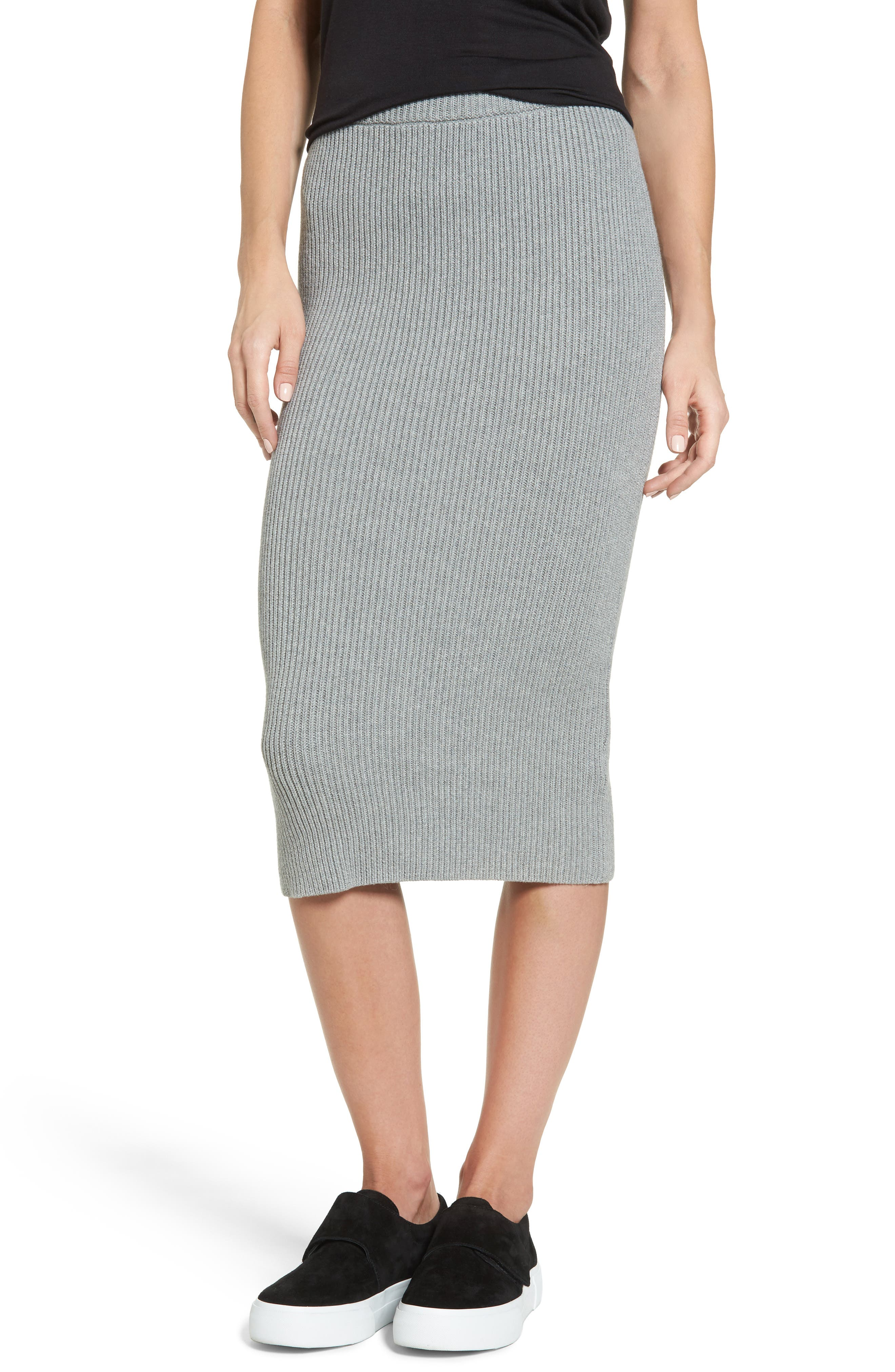 Alternate Image 1 Selected - The Fifth Label Galactic Knit Skirt