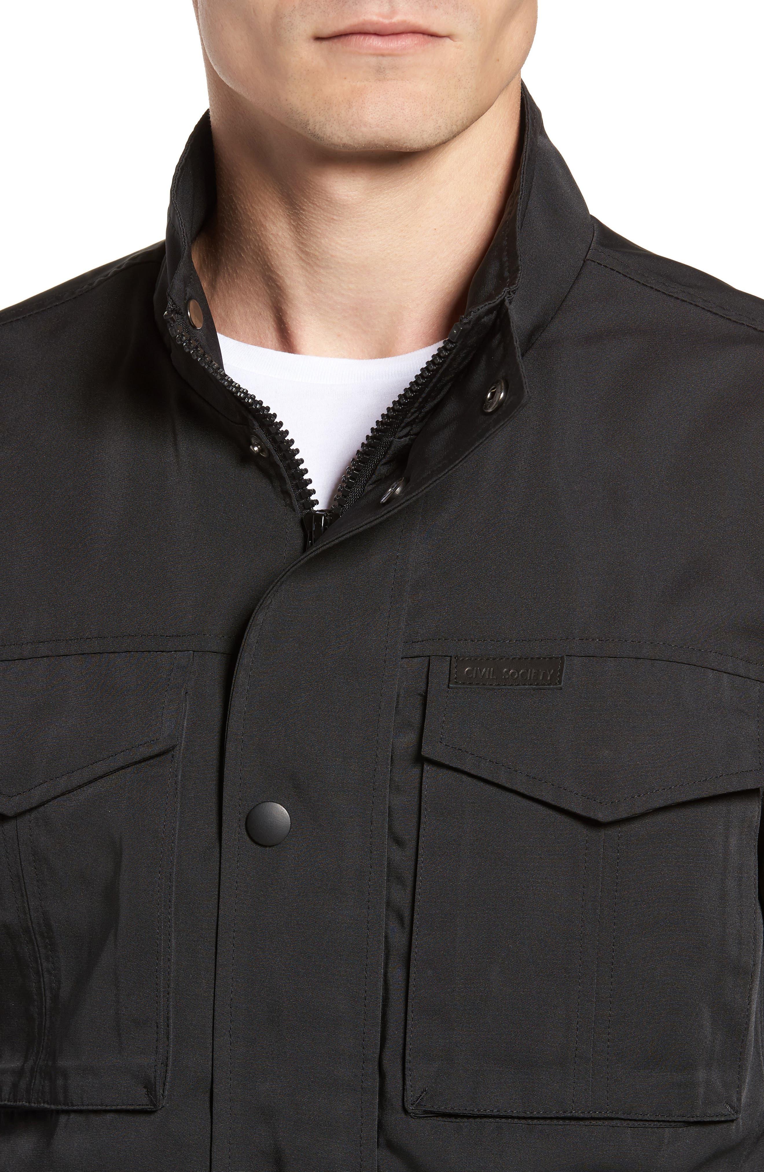 Alternate Image 4  - Civil Society Dougie Waterproof Jacket