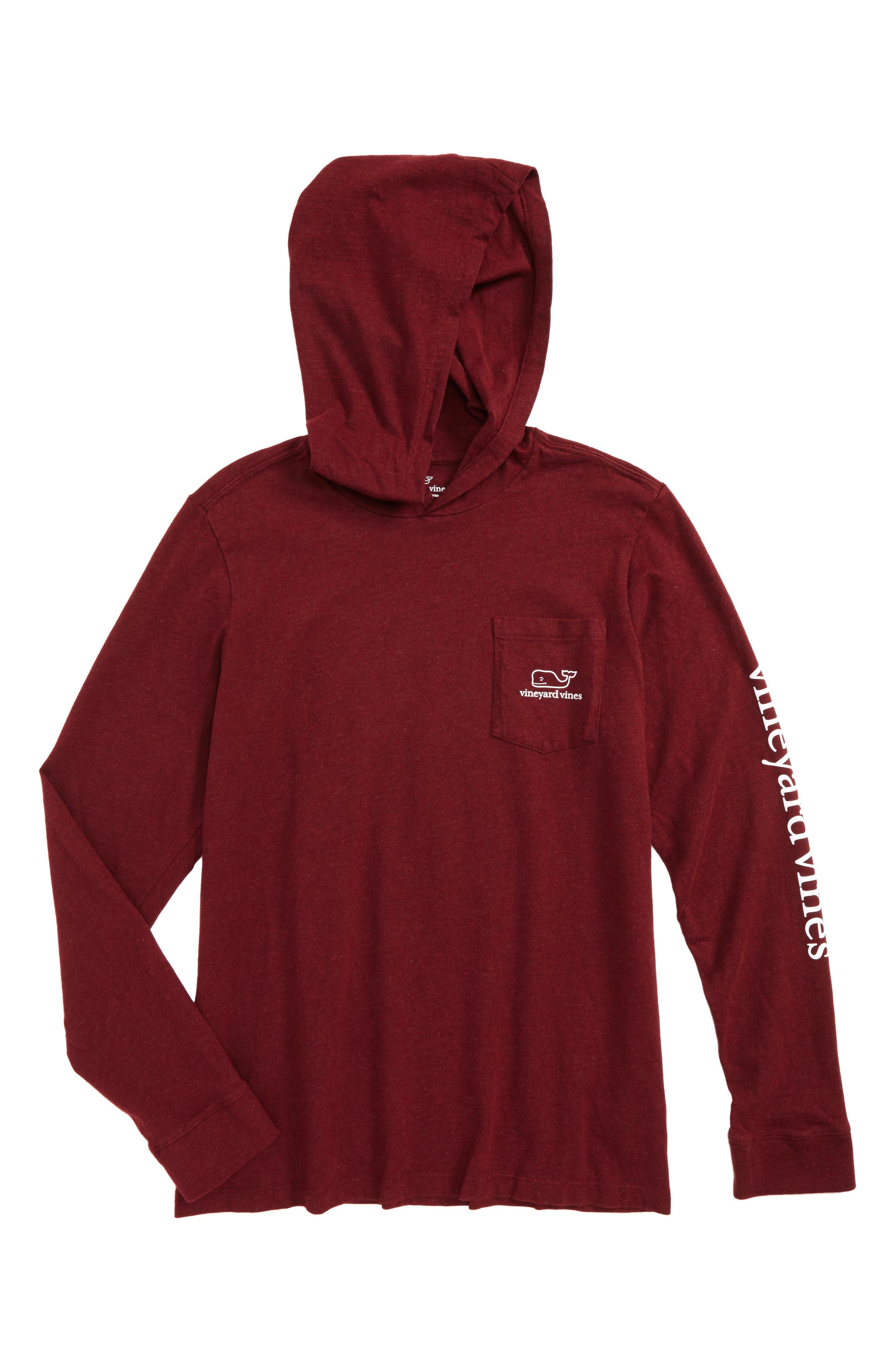 vineyard vines Whale Hooded T-Shirt (Big Boys)
