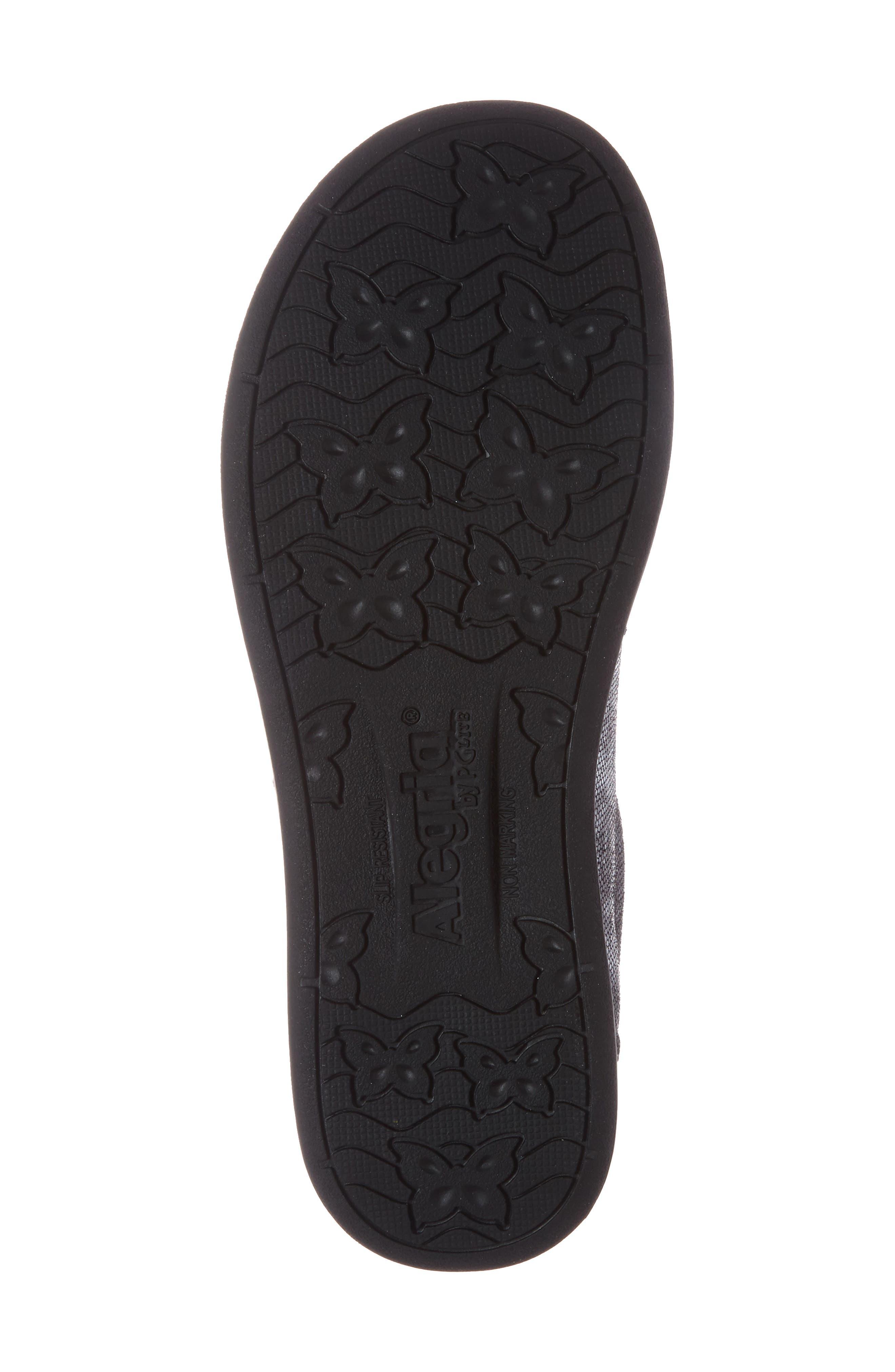 Alternate Image 5  - Alegria Essence Lace-Up Leather Oxford (Women)