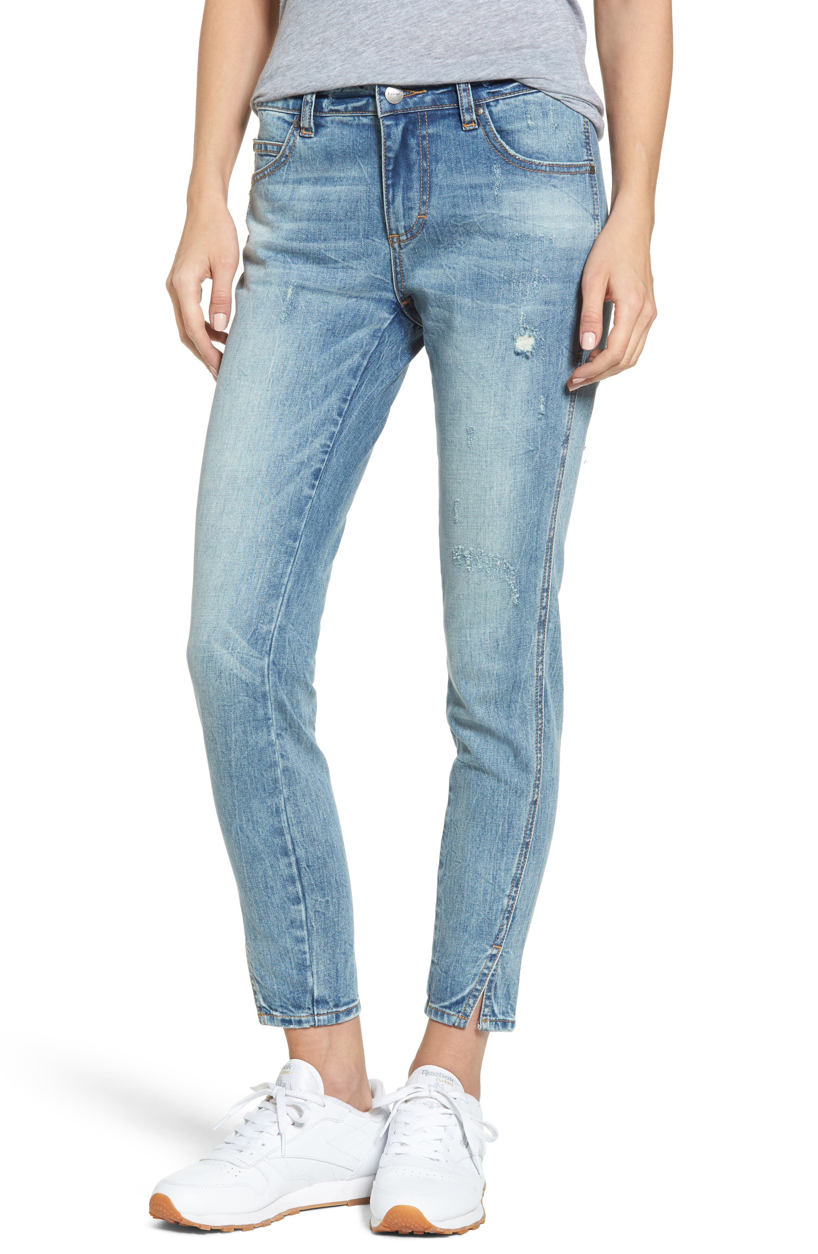 EVIDNT Tate Twisted Skinny Jeans (Abbot Kinney)