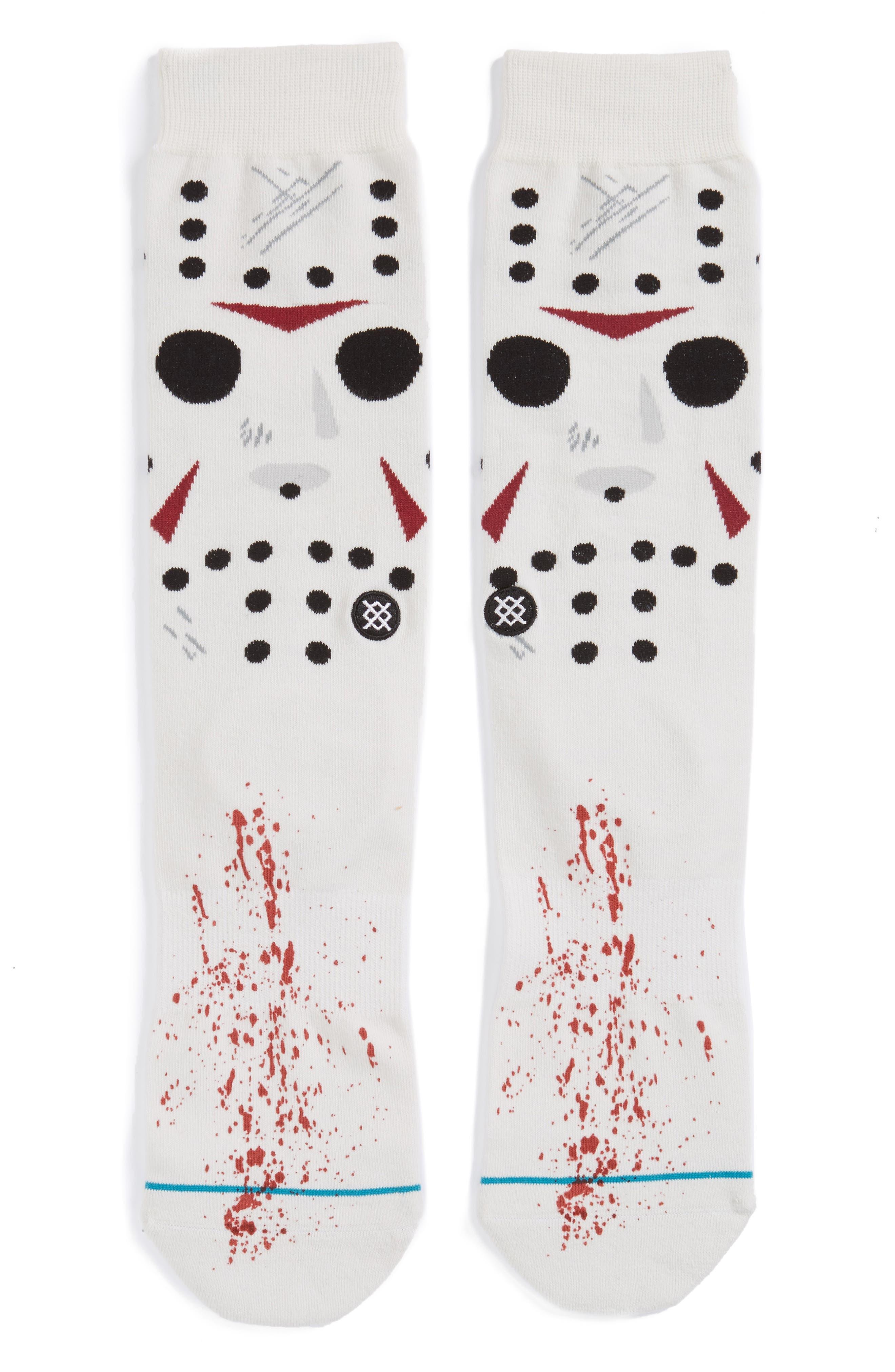 Jason - Legends of Horror Socks,                         Main,                         color, White