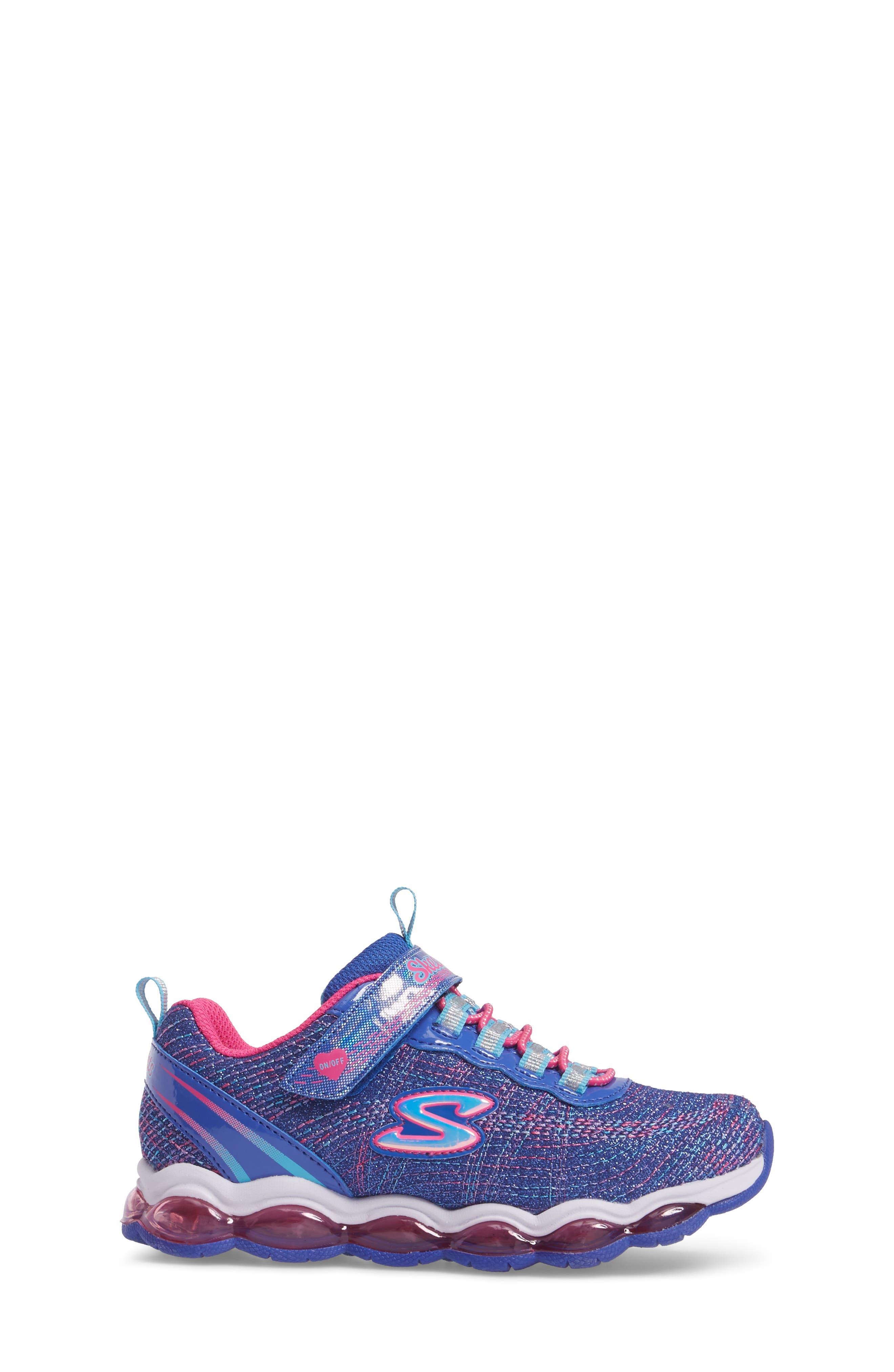 Alternate Image 3  - SKECHERS Glimmer Lights Sneakers (Toddler & Little Kid)