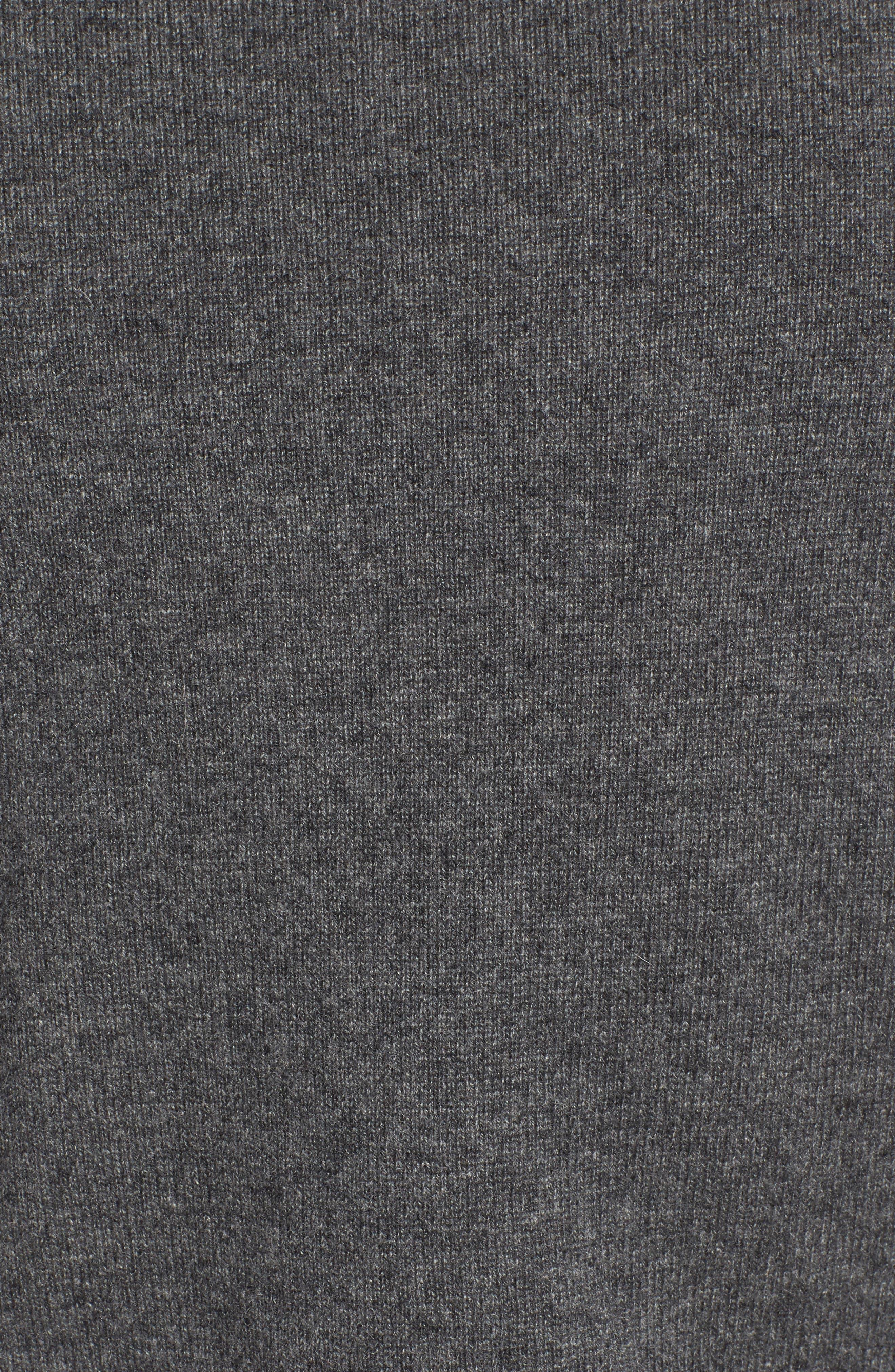 Camo Cashmere Sweater,                             Alternate thumbnail 5, color,                             Multi