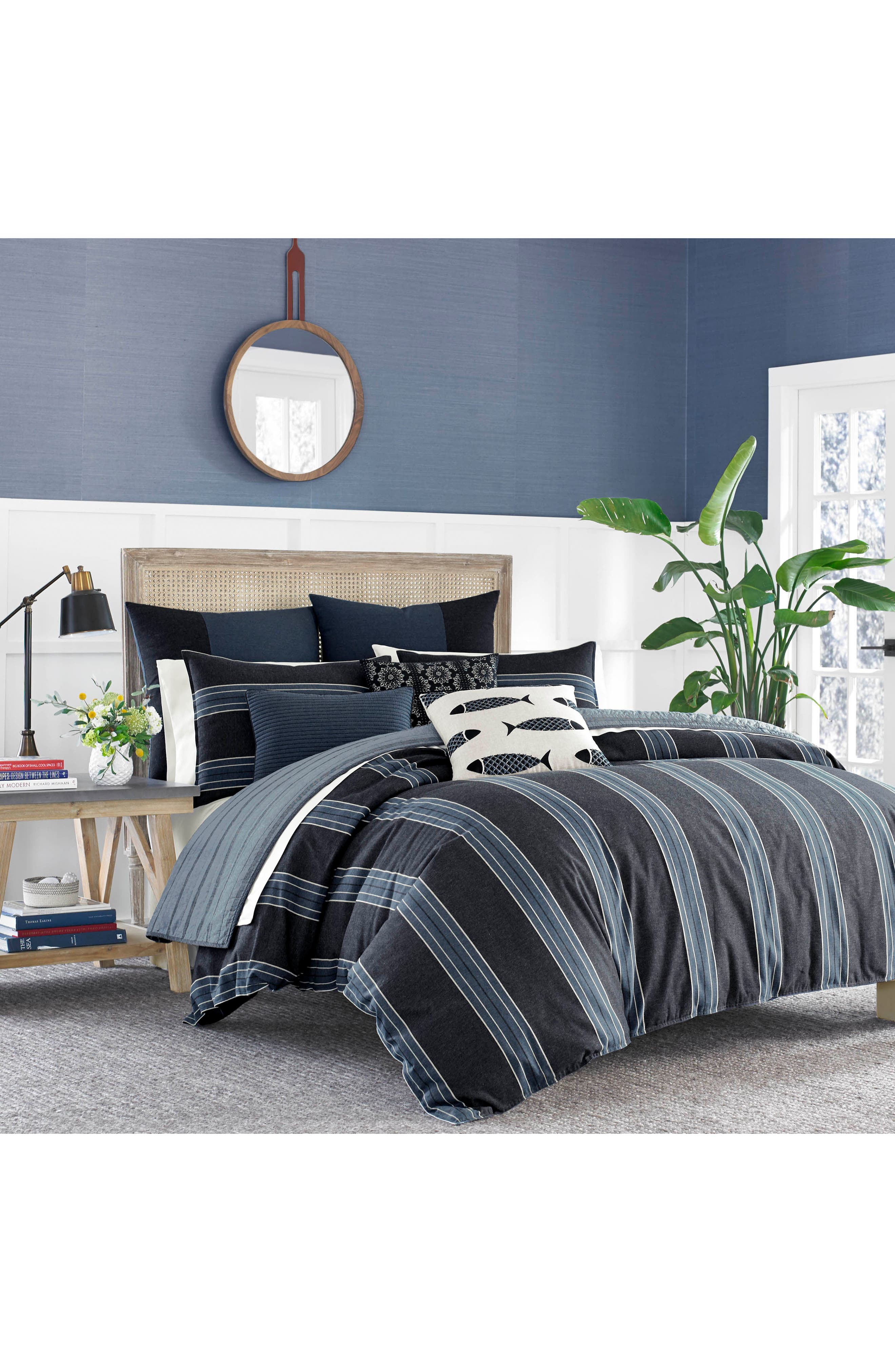 Lockridge Quilted Accent Pillow,                             Alternate thumbnail 2, color,                             Dark Navy