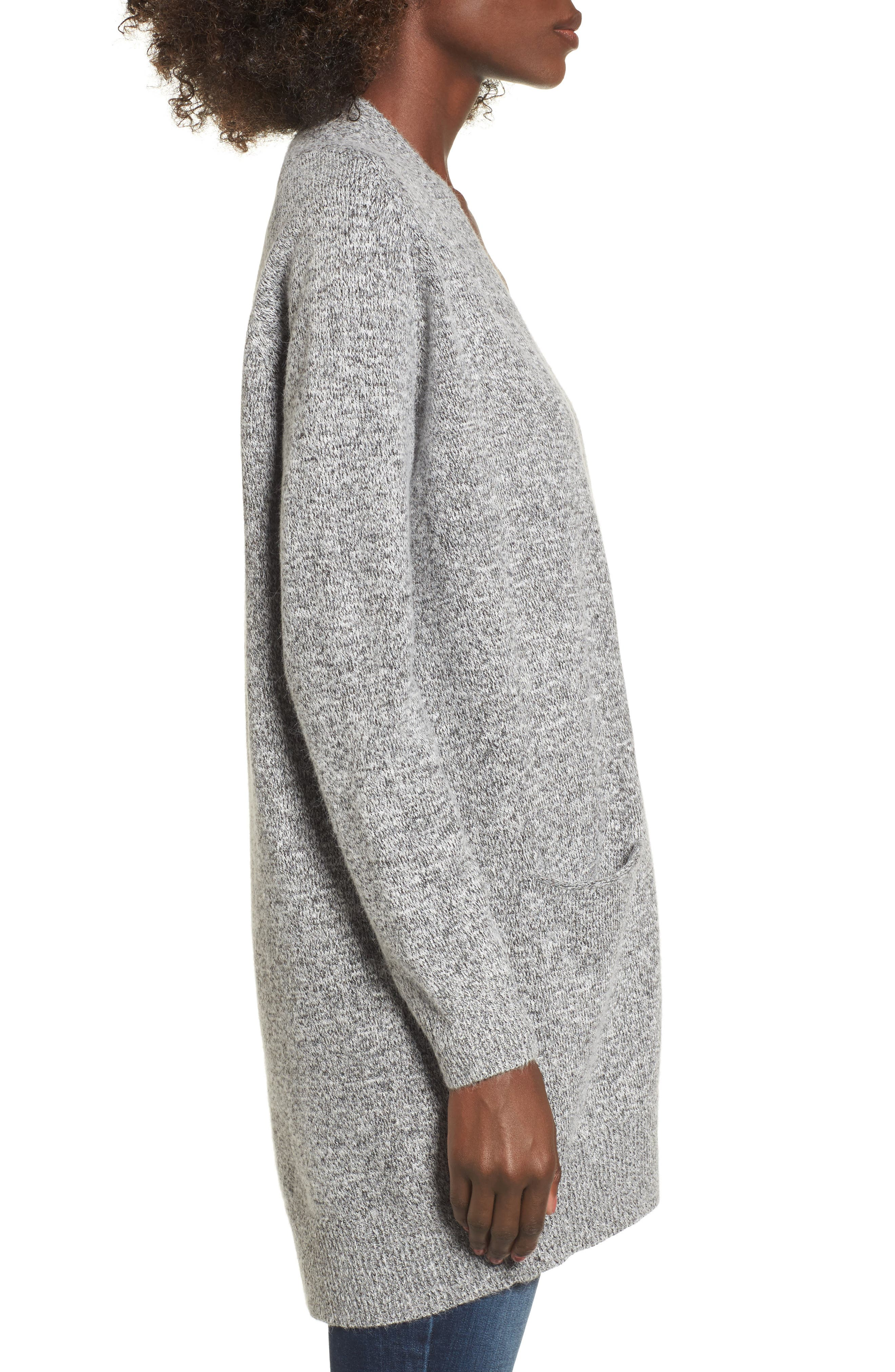 Alternate Image 3  - Dreamers by Debut Cozy Open Cardigan