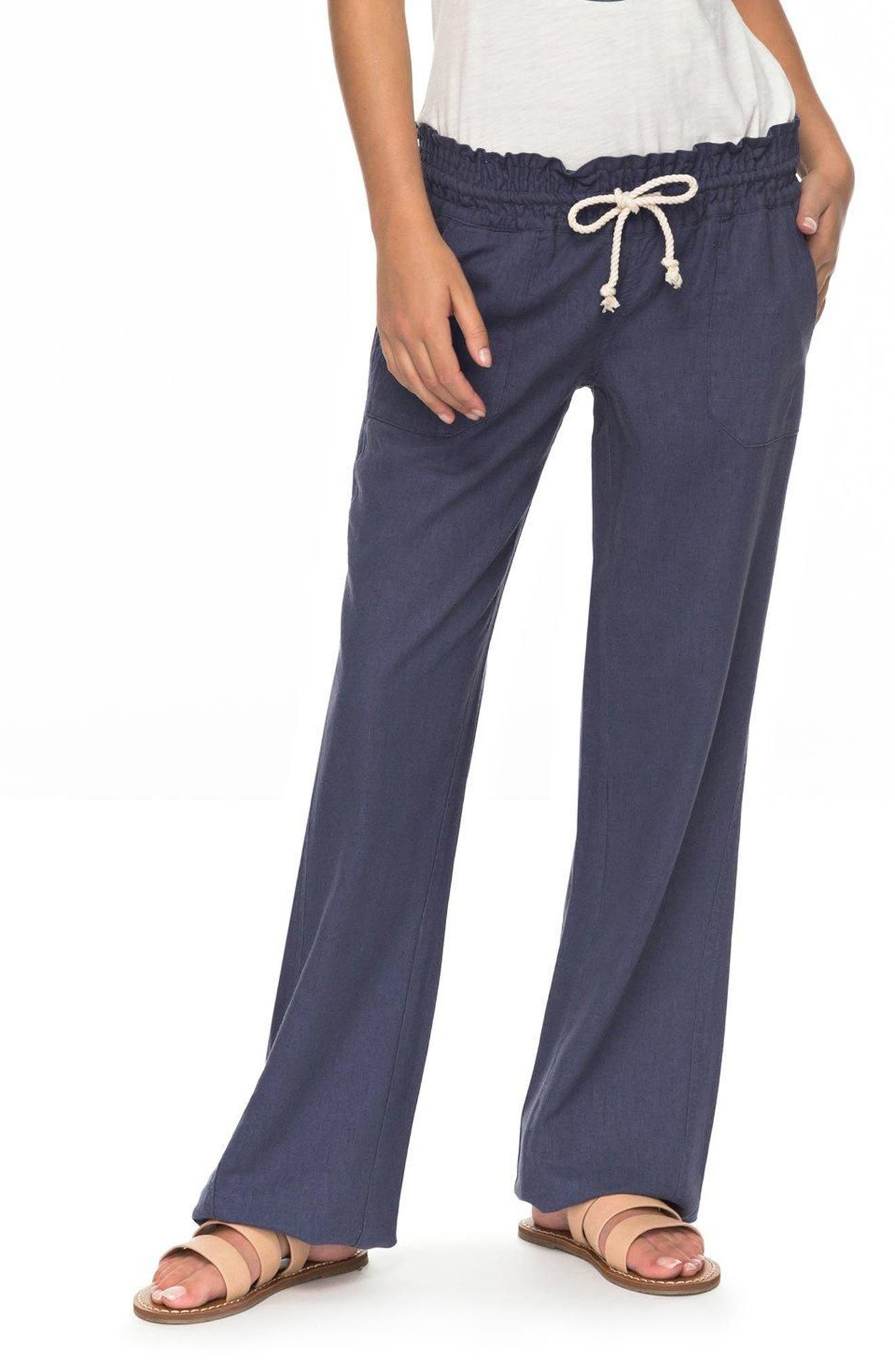 Main Image - Roxy 'Oceanside' Beach Pants