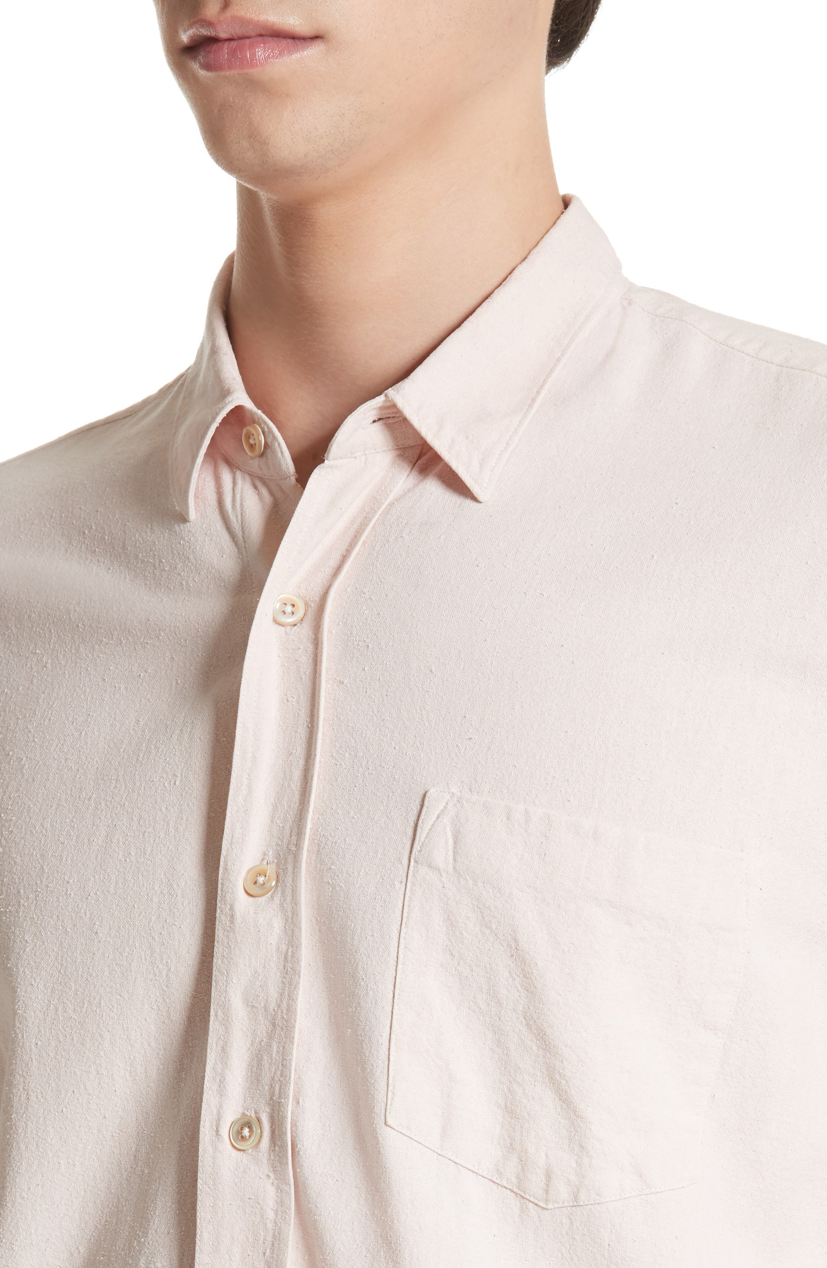 Alternate Image 4  - OUR LEGACY Classic Silk Shirt