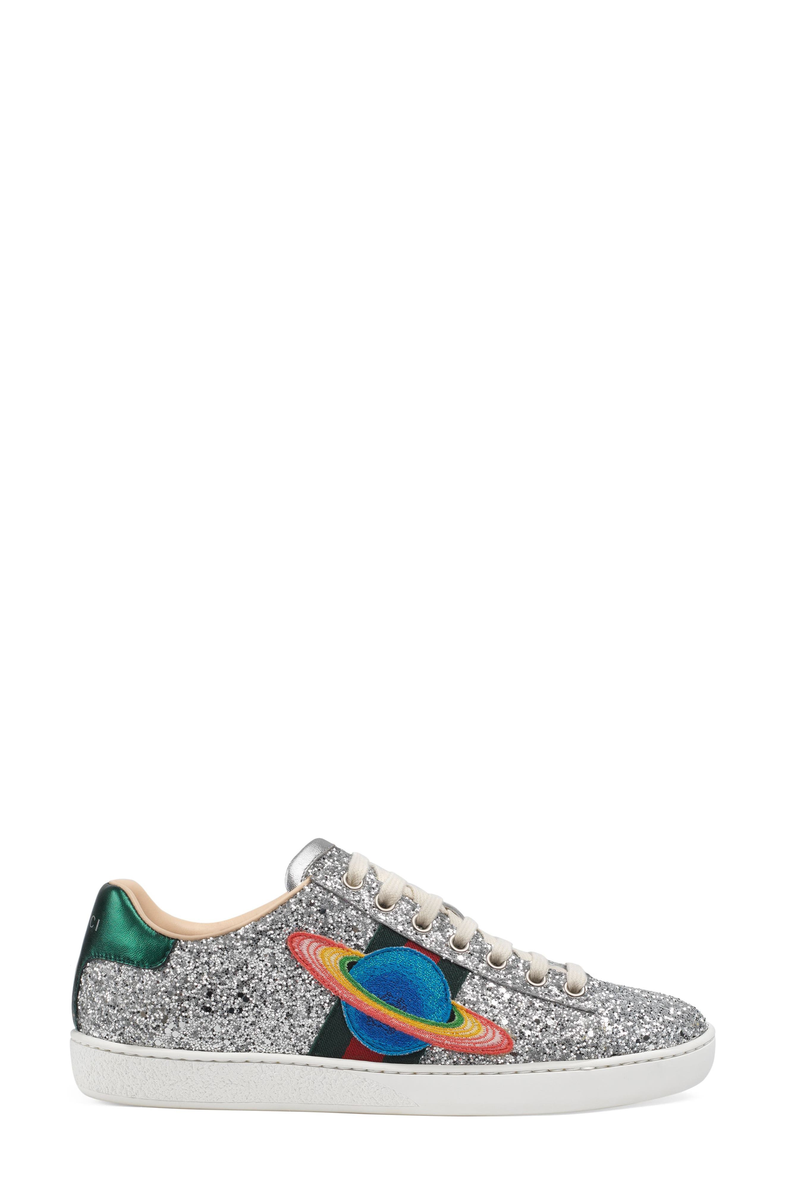 Alternate Image 2  - Gucci 'New Ace' Low Top Sneaker (Women)