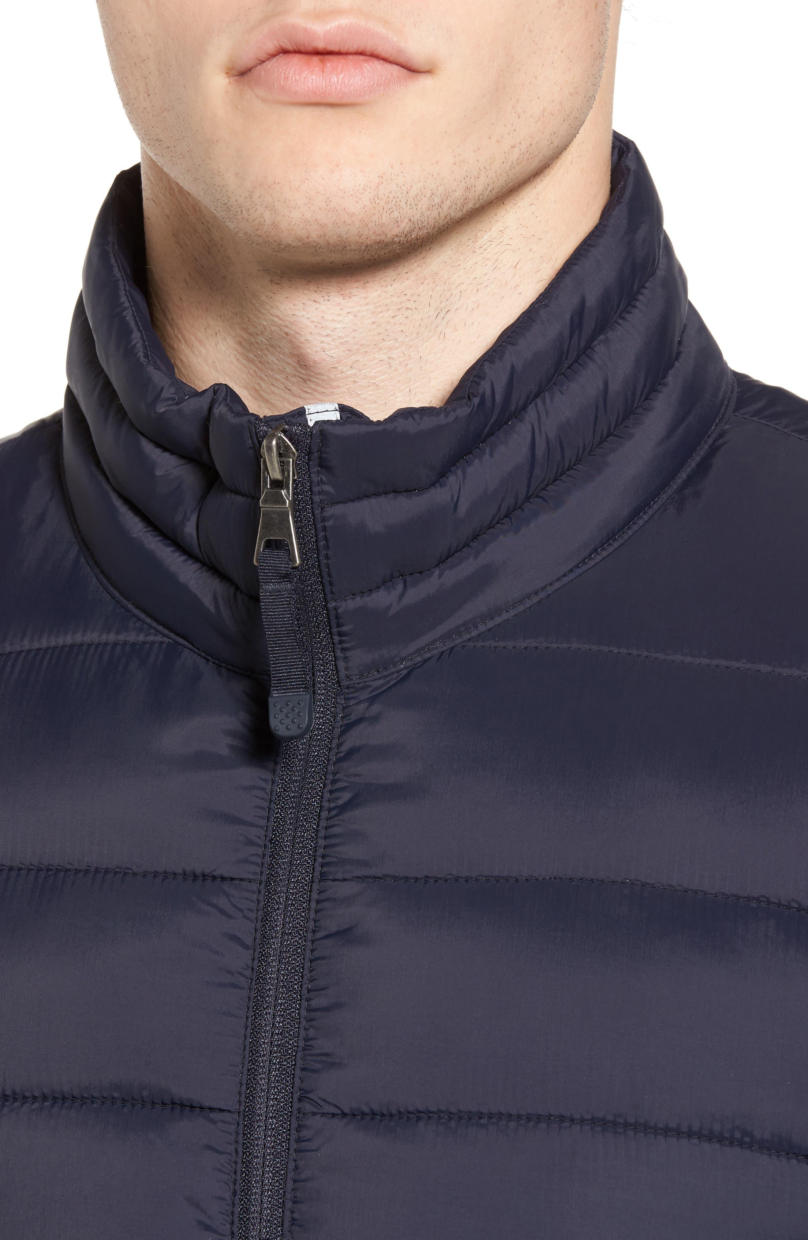 Alternate Image 4  - Black Rivet Water Resistant Packable Puffer Jacket