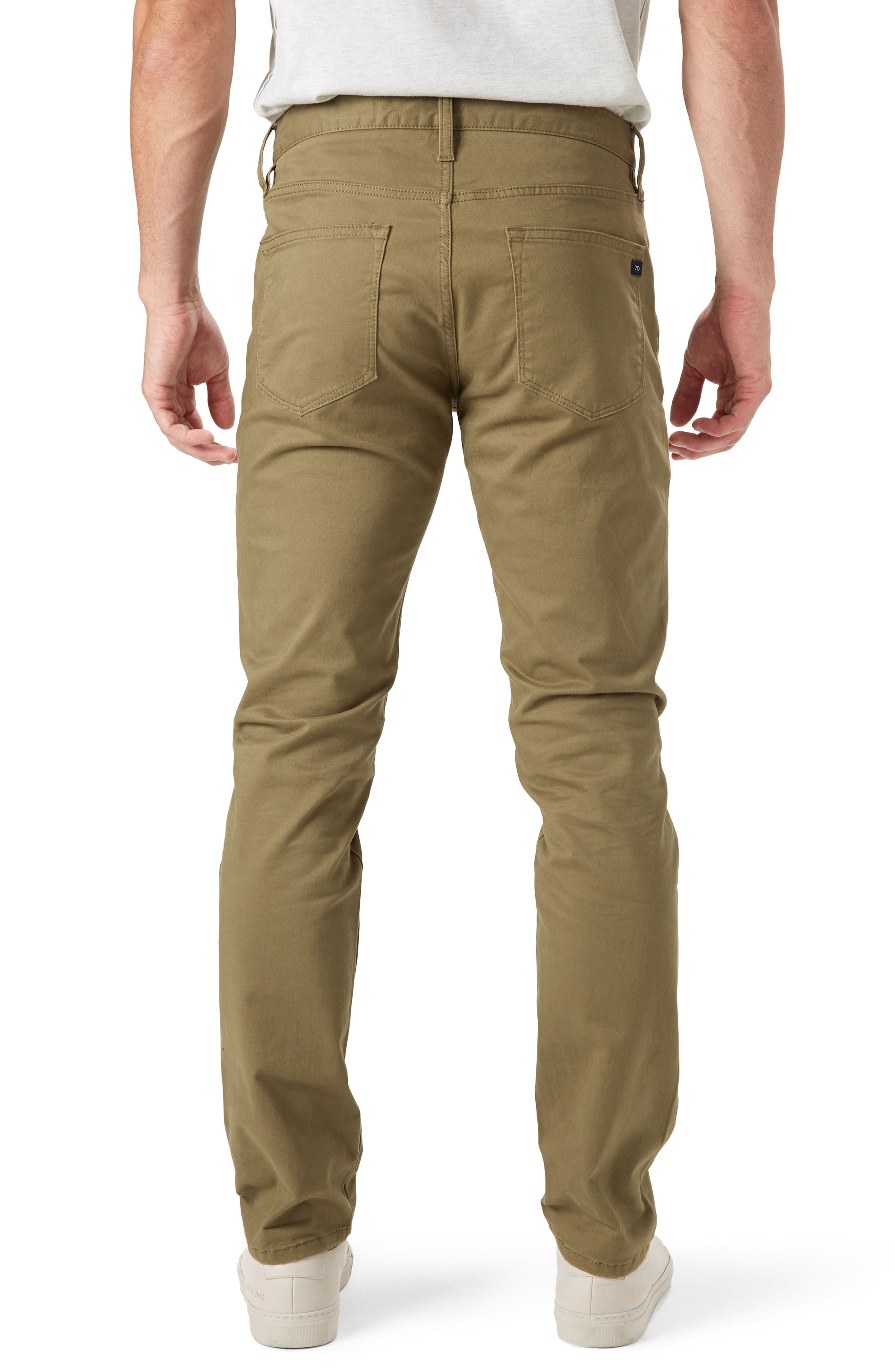 Brushed Twill Five-Pocket Pants,                             Alternate thumbnail 2, color,                             Chip