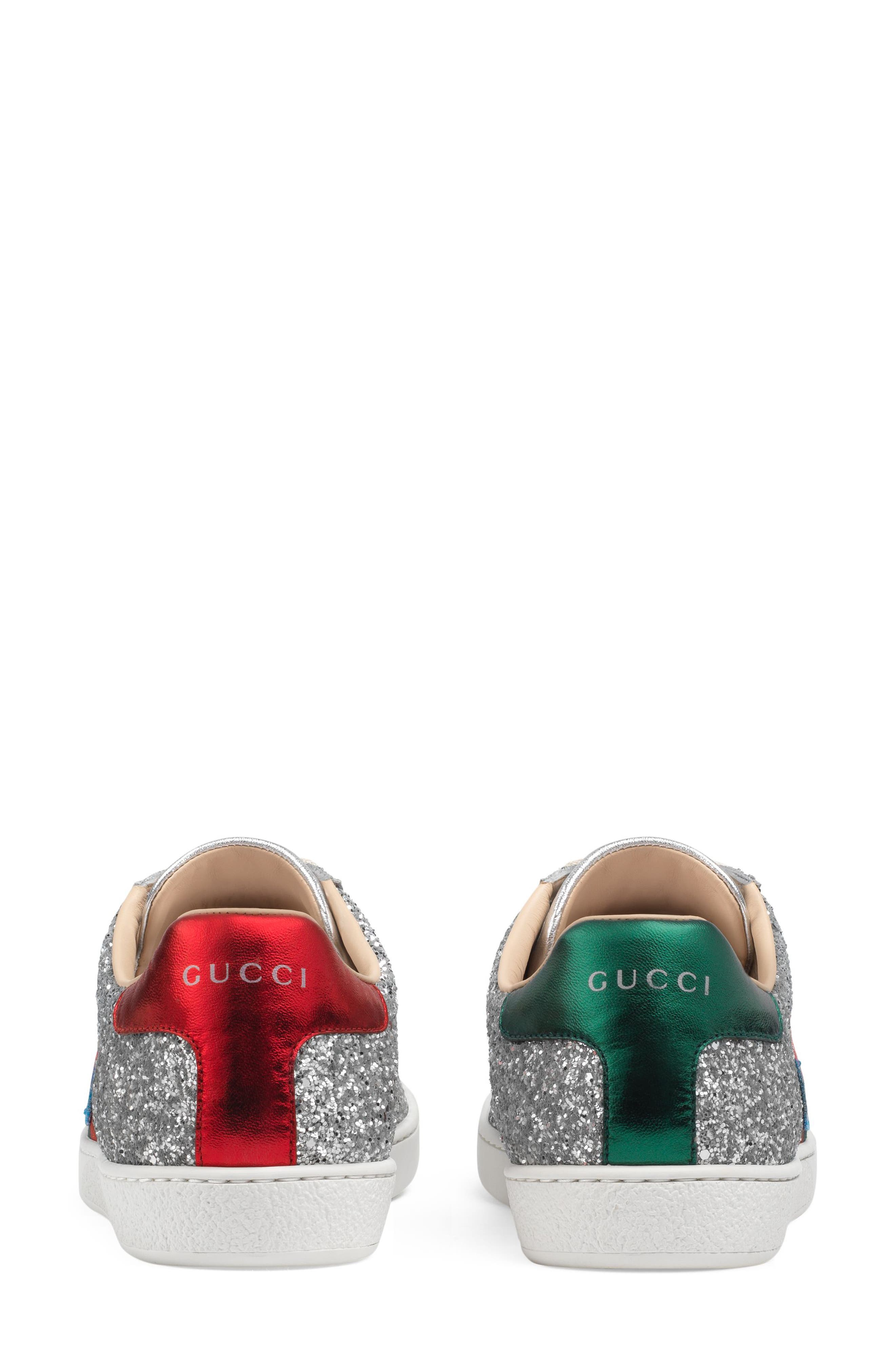 Alternate Image 4  - Gucci 'New Ace' Low Top Sneaker (Women)