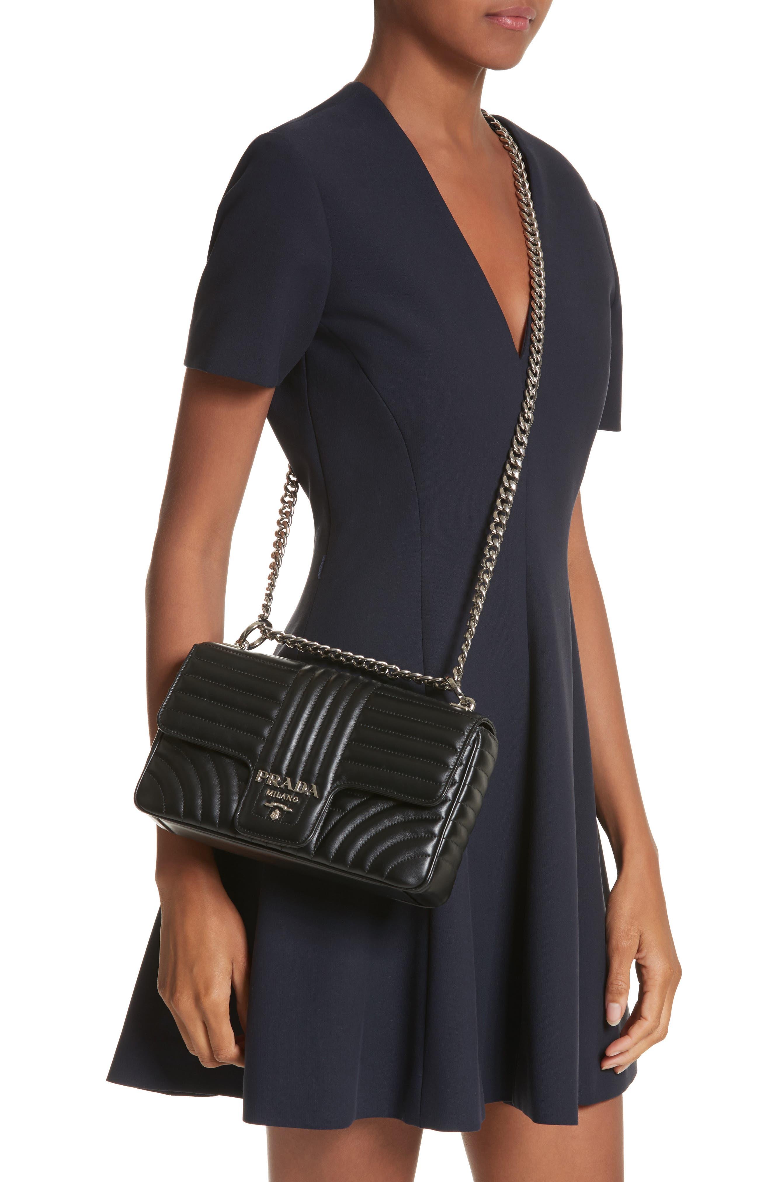 Alternate Image 2  - Prada Large Quilted Shoulder Bag