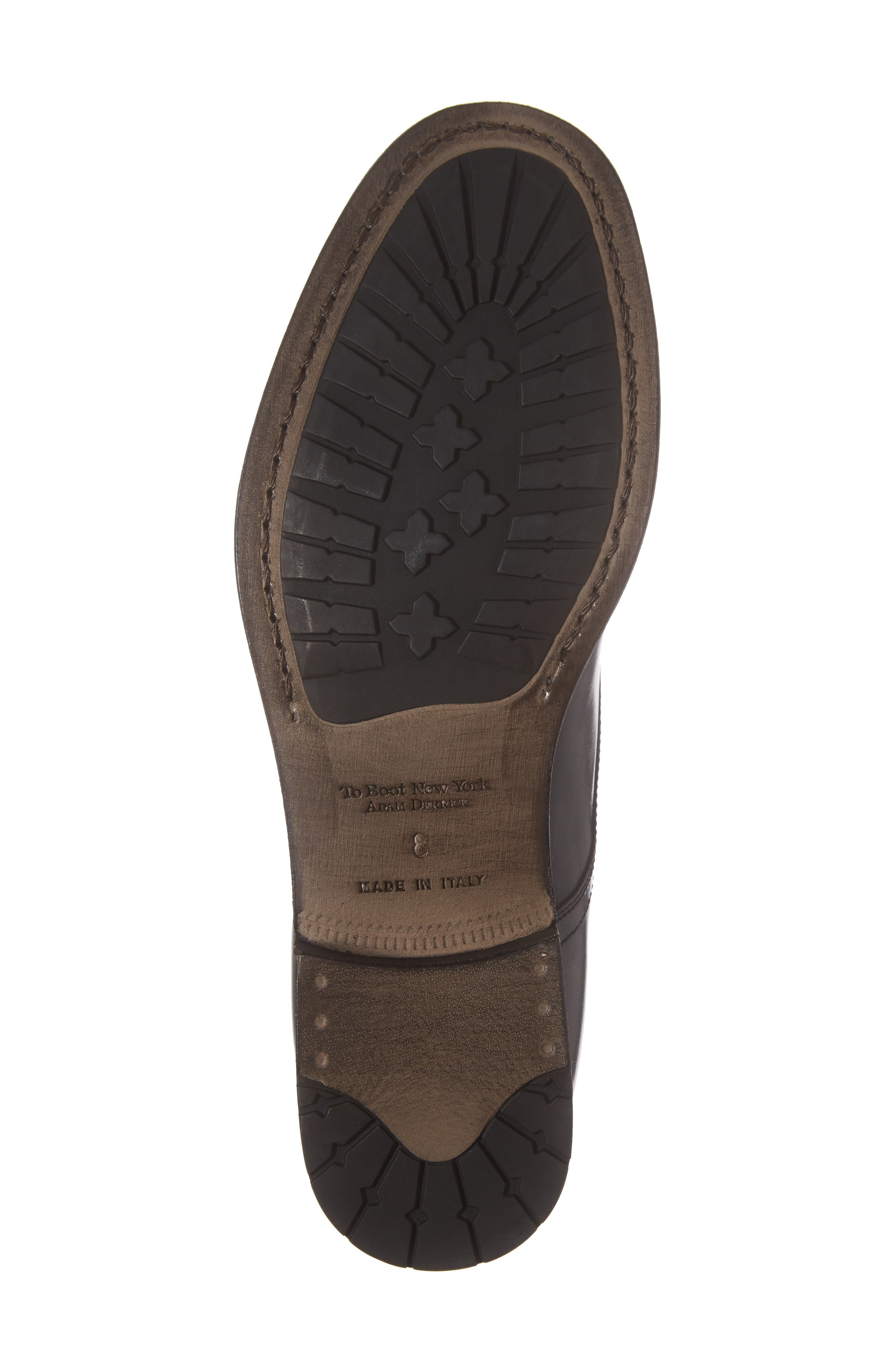 Bondfield Cap Toe Boot,                             Alternate thumbnail 6, color,                             Black