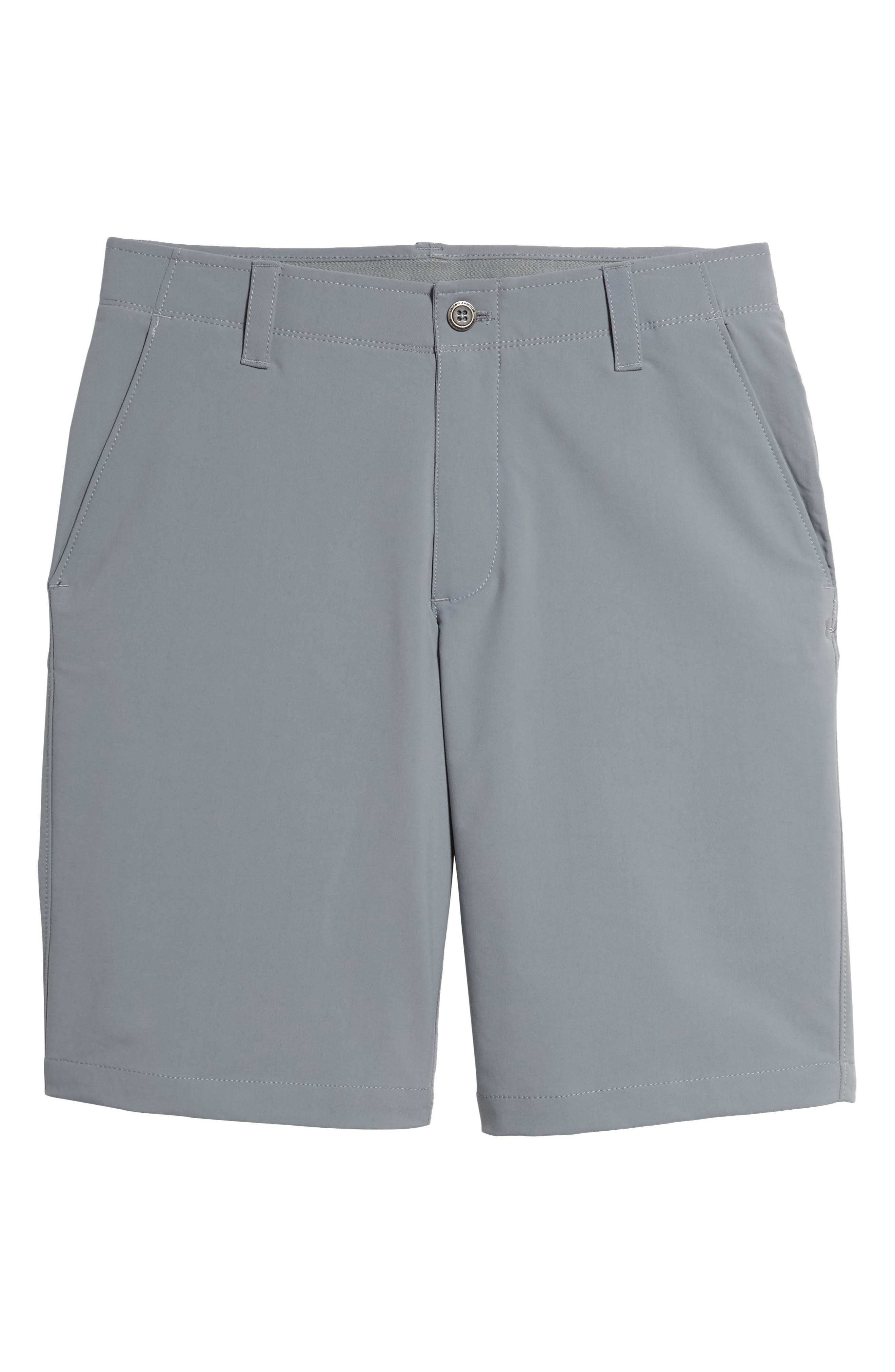 'Matchplay' Moisture Wicking Golf Shorts,                             Main thumbnail 1, color,                             Steel