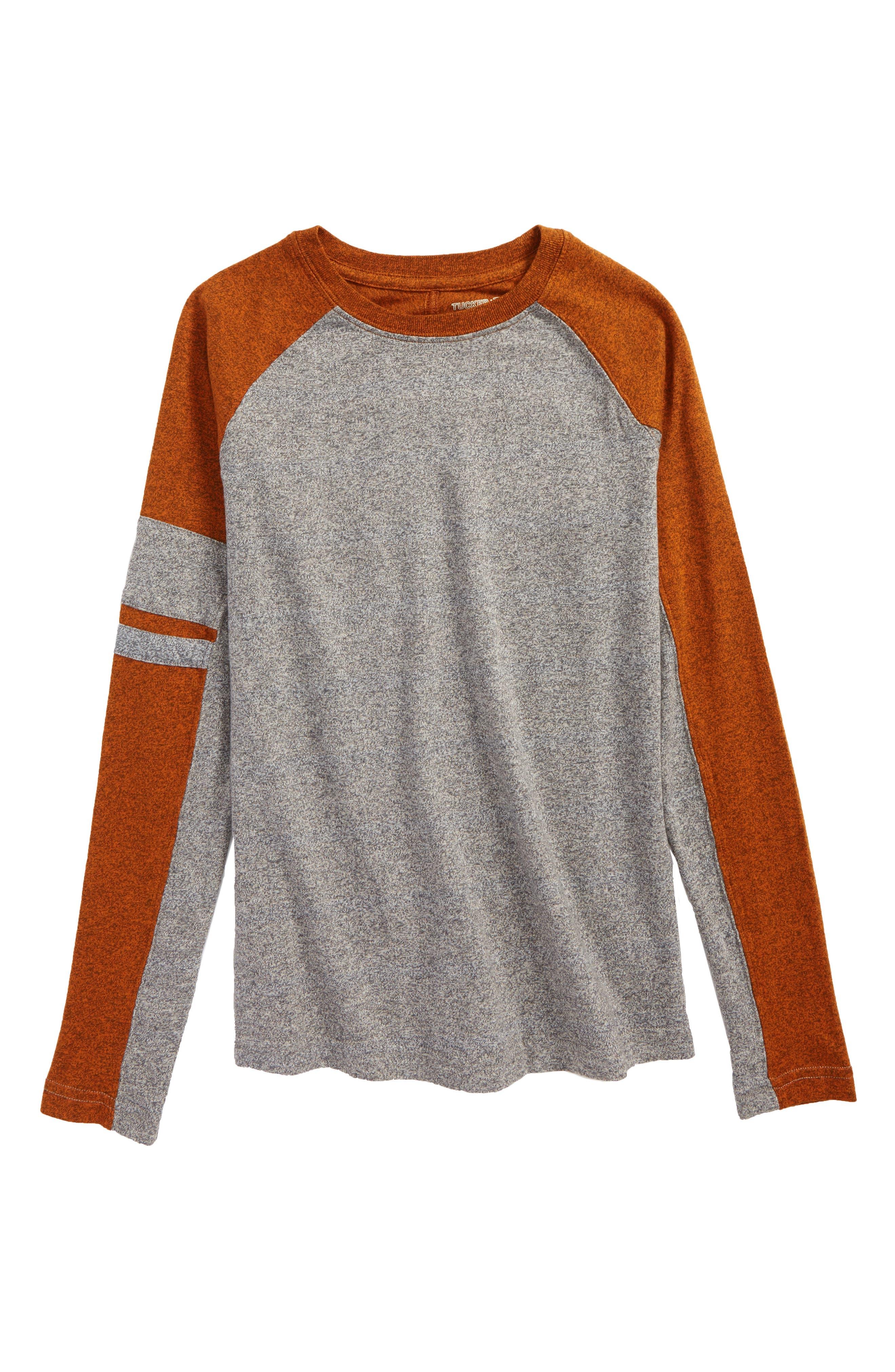 Alternate Image 1 Selected - Tucker + Tate Varsity Raglan Shirt (Big Boys)