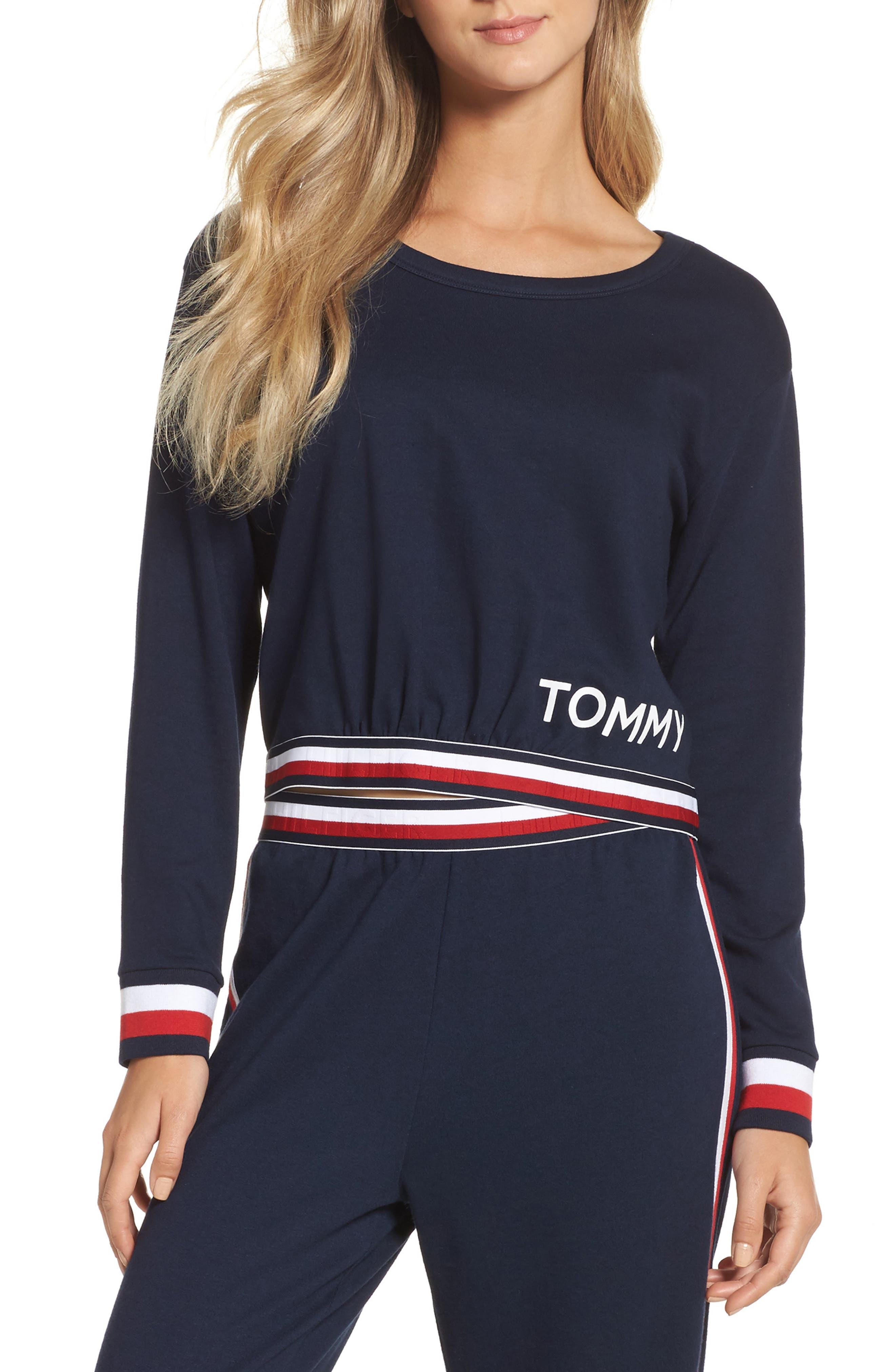Tommy Hilfiger Crop Sweatshirt