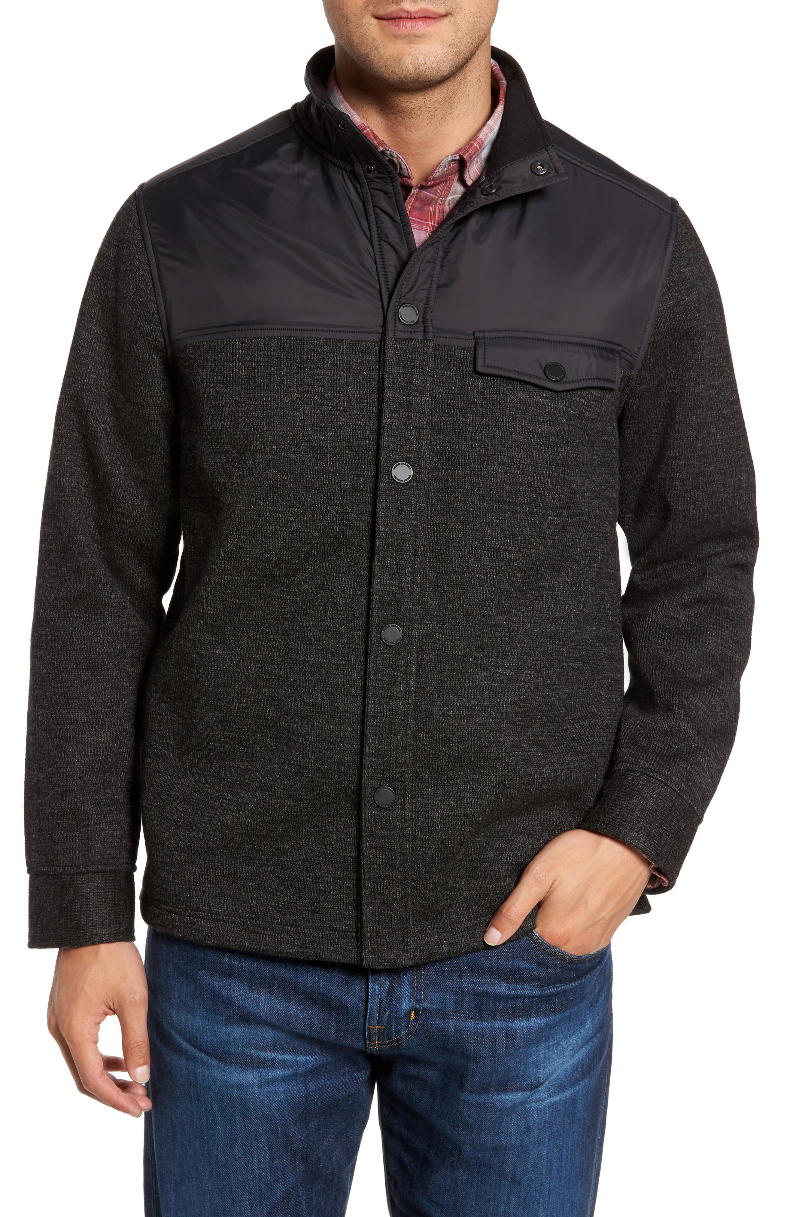 Tommy Bahama Lancaster Snap Front Jacket