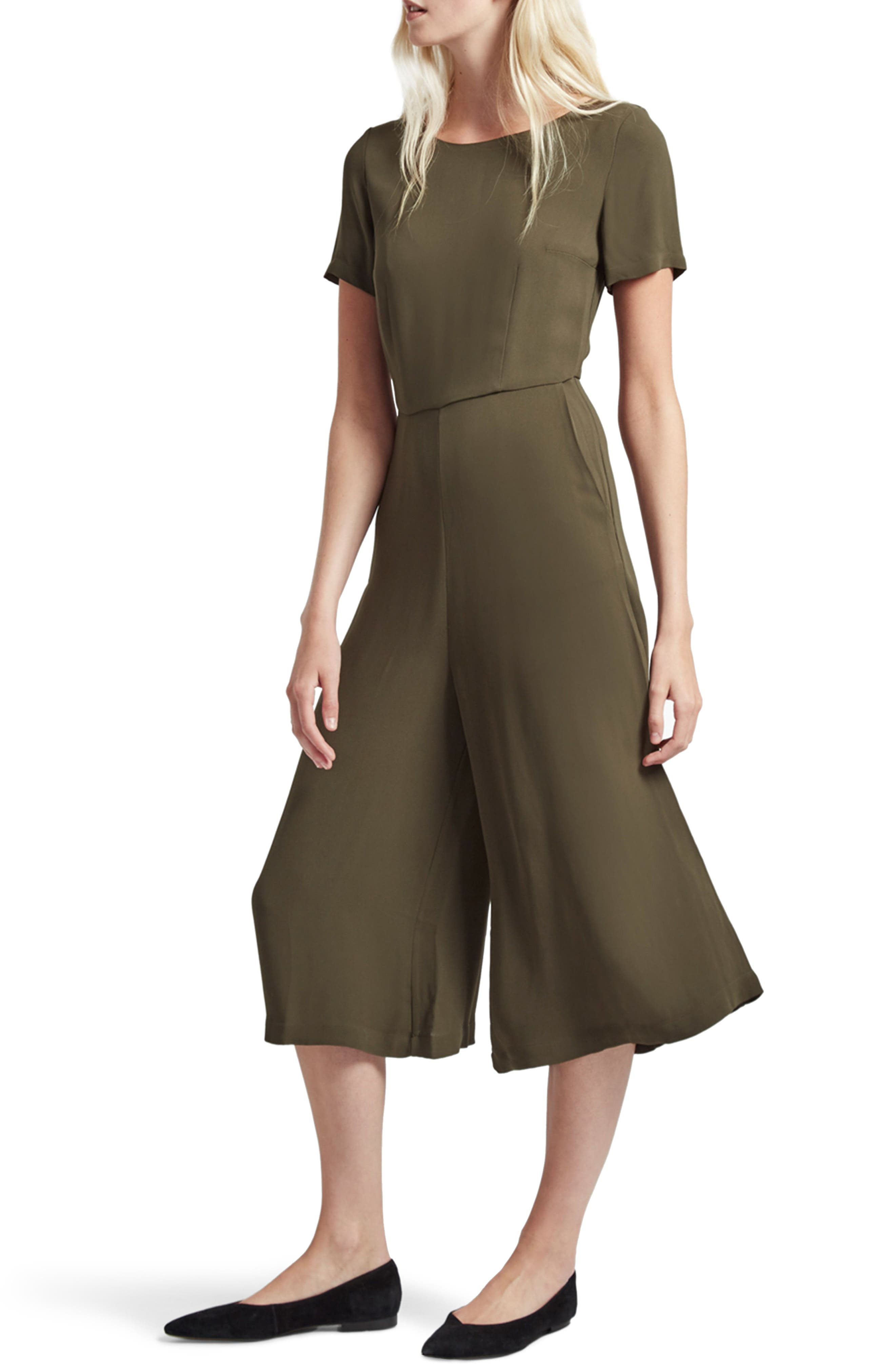 Alternate Image 4  - French Connection Esther Crepe Jumpsuit