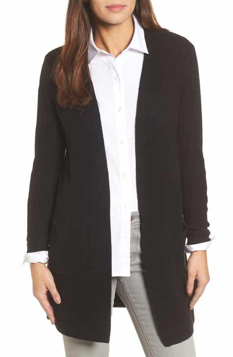 c2ba1f956 Halogen® Long Ribbed Cardigan (Regular   Petite)
