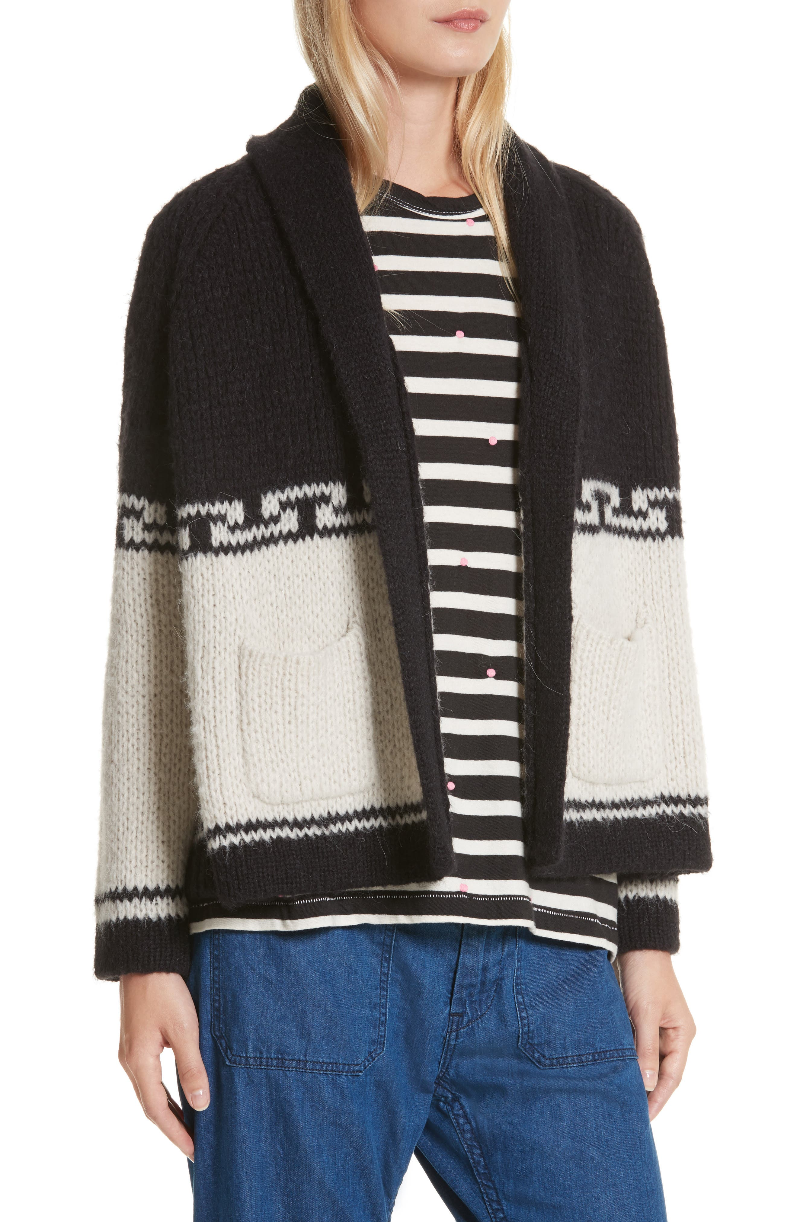 Alternate Image 5  - THE GREAT. The Lodge Cardigan