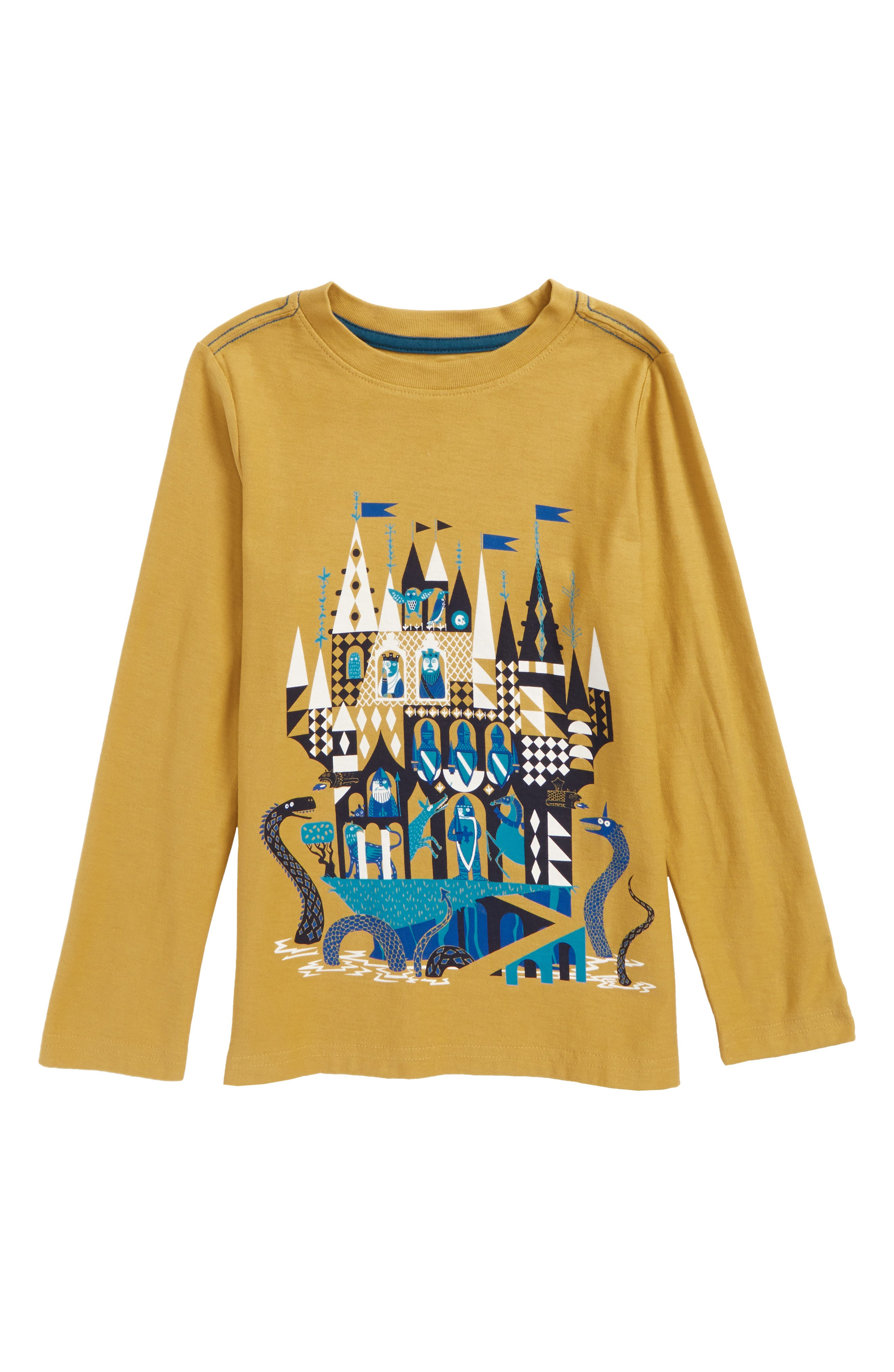 Main Image - Tea Collection Castle Graphic T-Shirt (Toddler Boys & Little Boys)