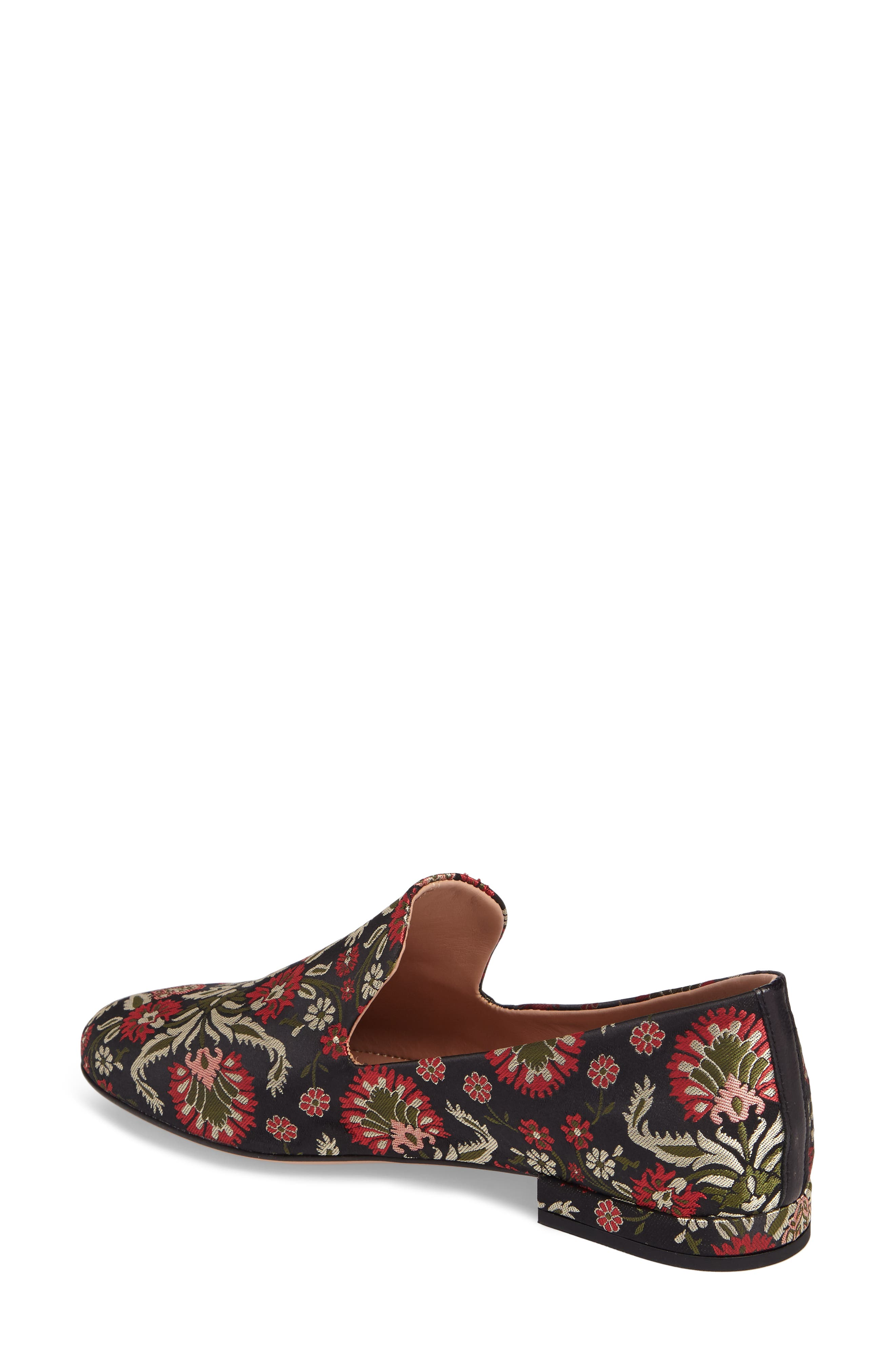 Gabriella Loafer,                             Alternate thumbnail 2, color,                             Red / Green Fabric