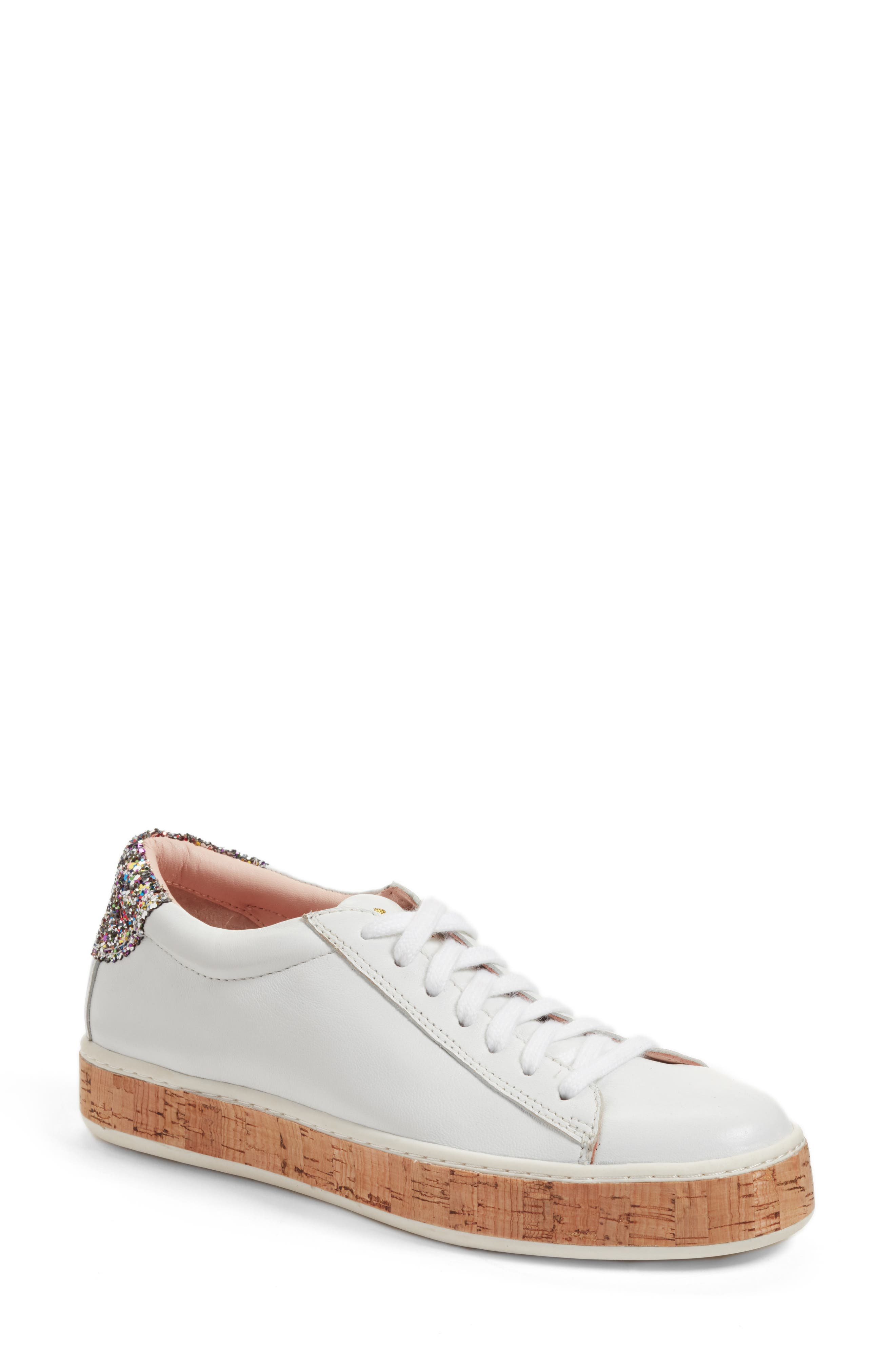 amy sneaker,                             Main thumbnail 1, color,                             White