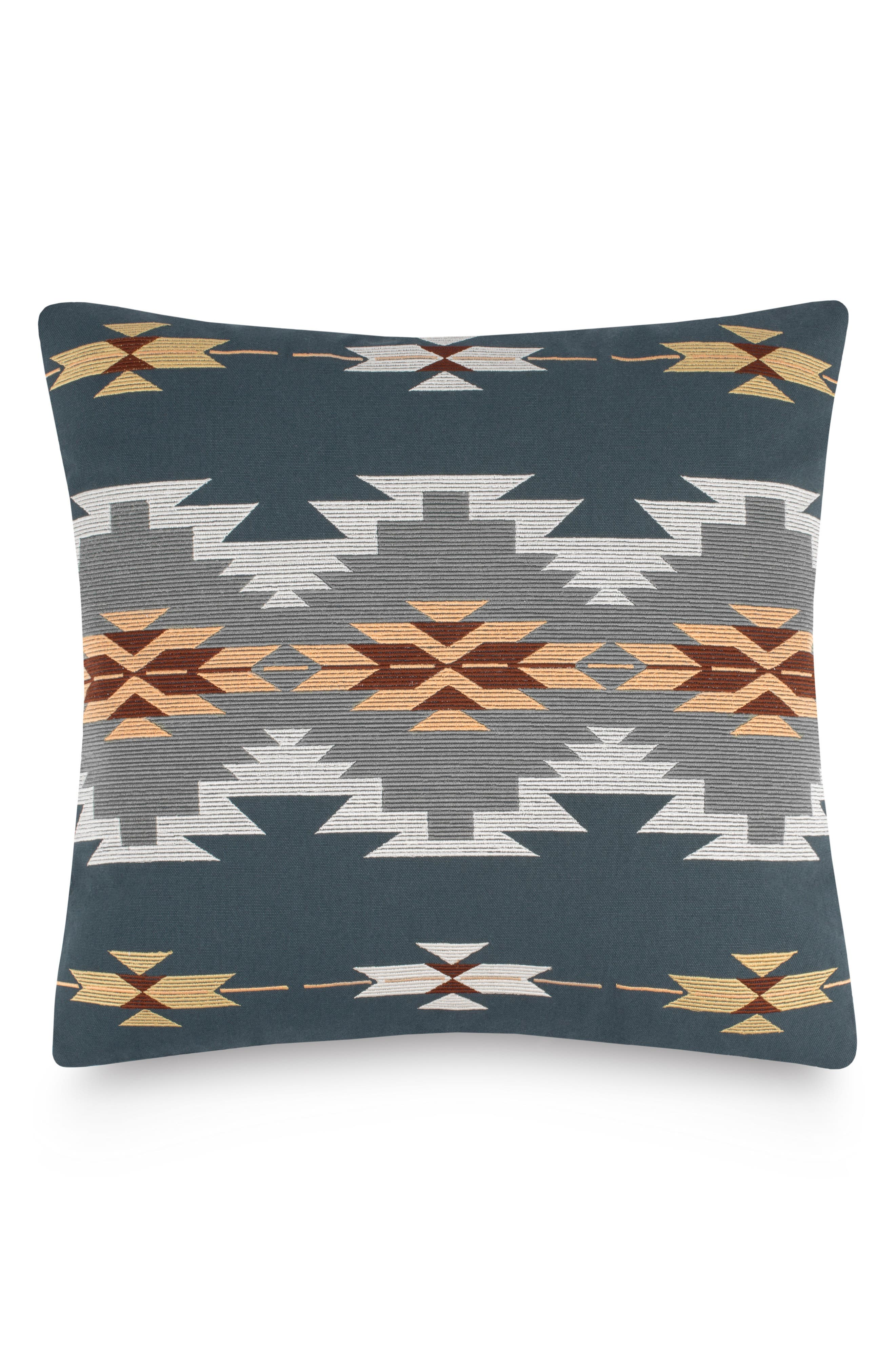 Crystal Peak Accent Pillow,                         Main,                         color, Dark Slate