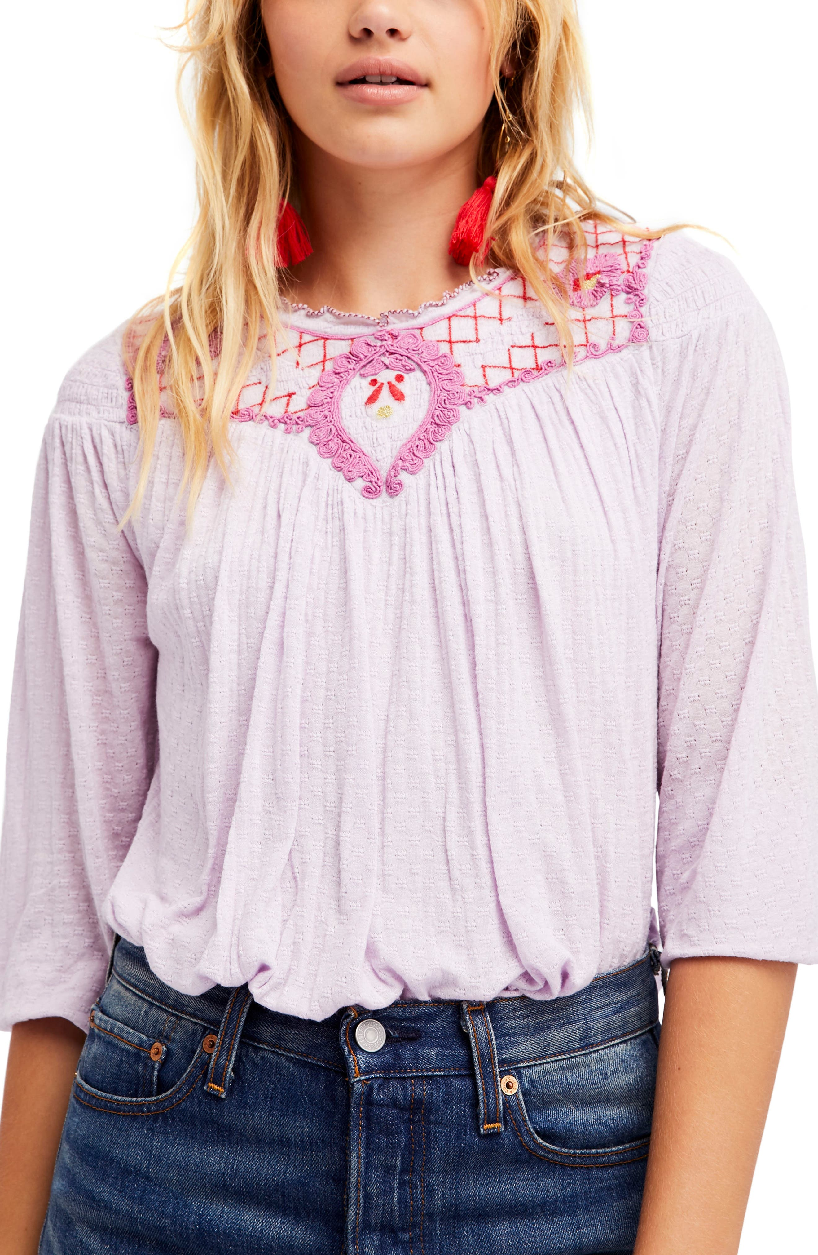 Alternate Image 1 Selected - Free People Begonia Top