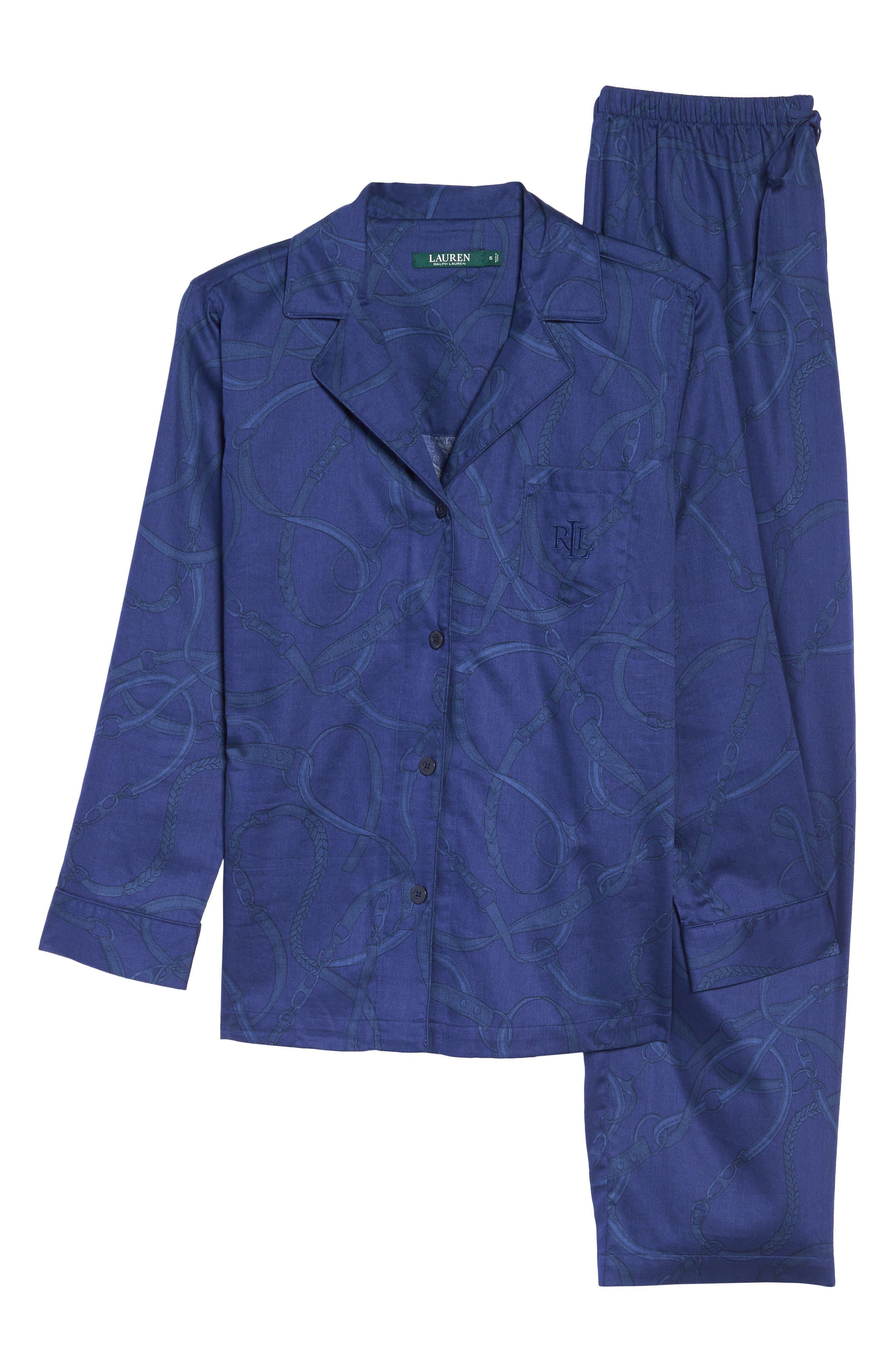Alternate Image 6  - Lauren Ralph Lauren Cotton Pajamas