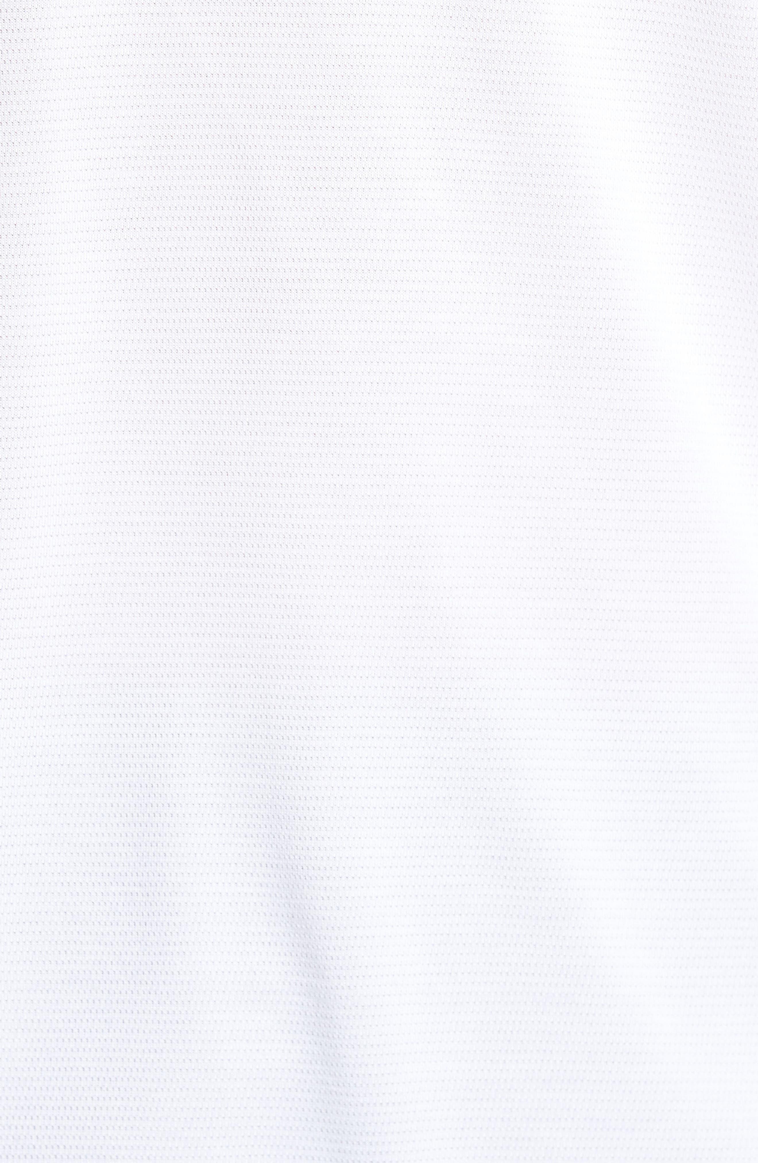 Threadborne Mesh Knit Hoodie,                             Alternate thumbnail 5, color,                             White