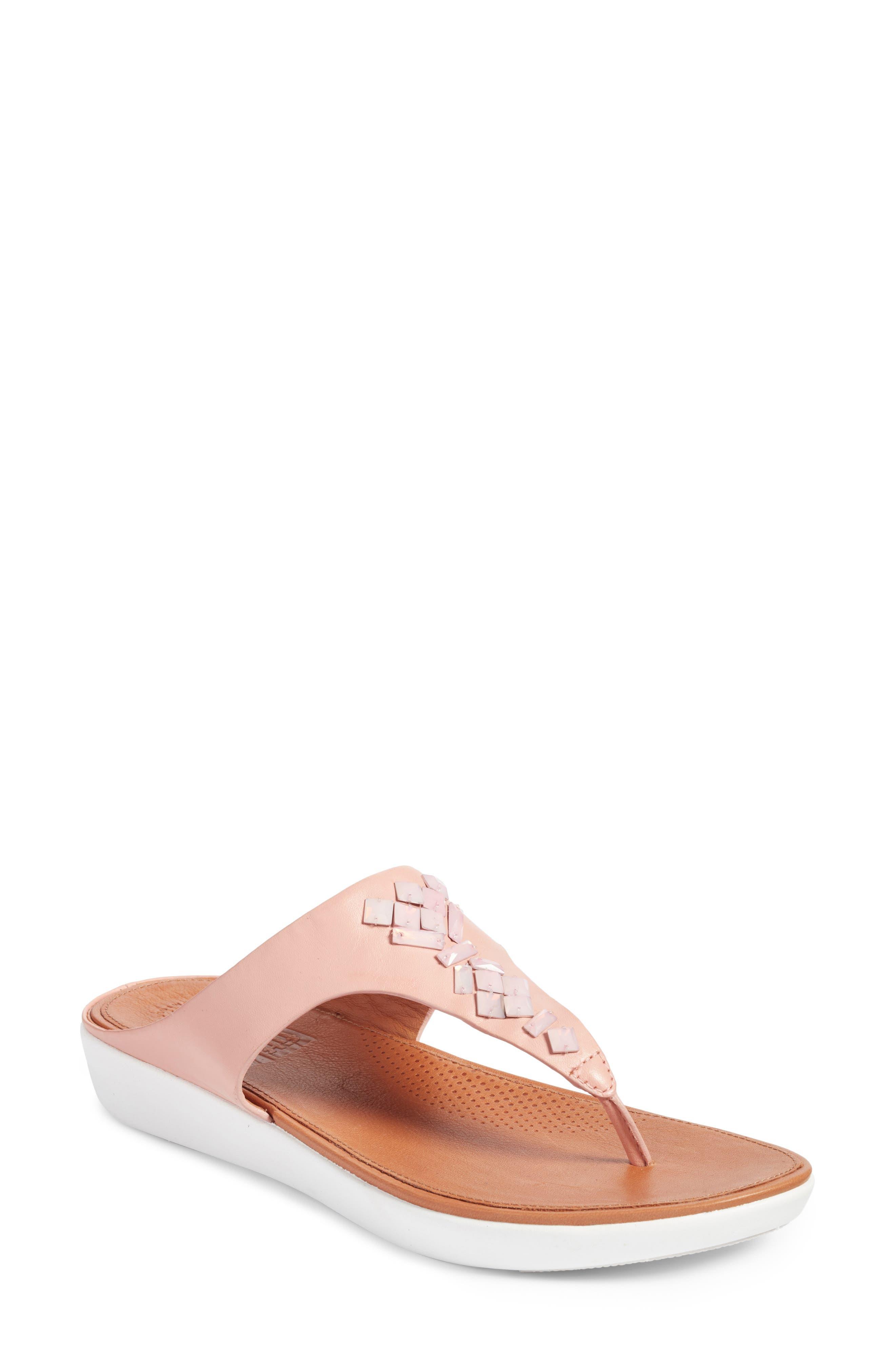 Banda Sandal, Dusty Pink Leather