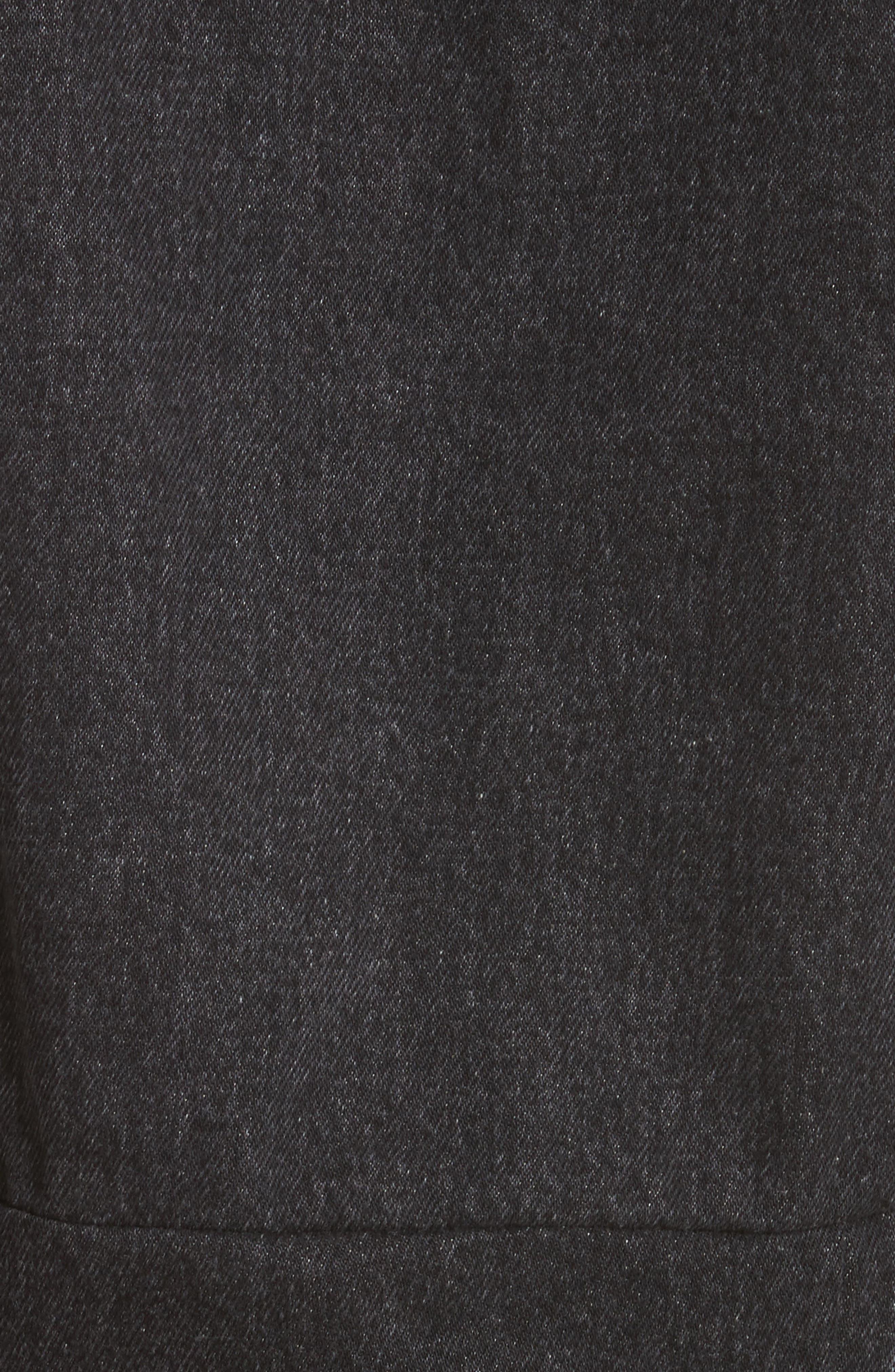 Alternate Image 5  - Vetements Reworked Denim Jacket
