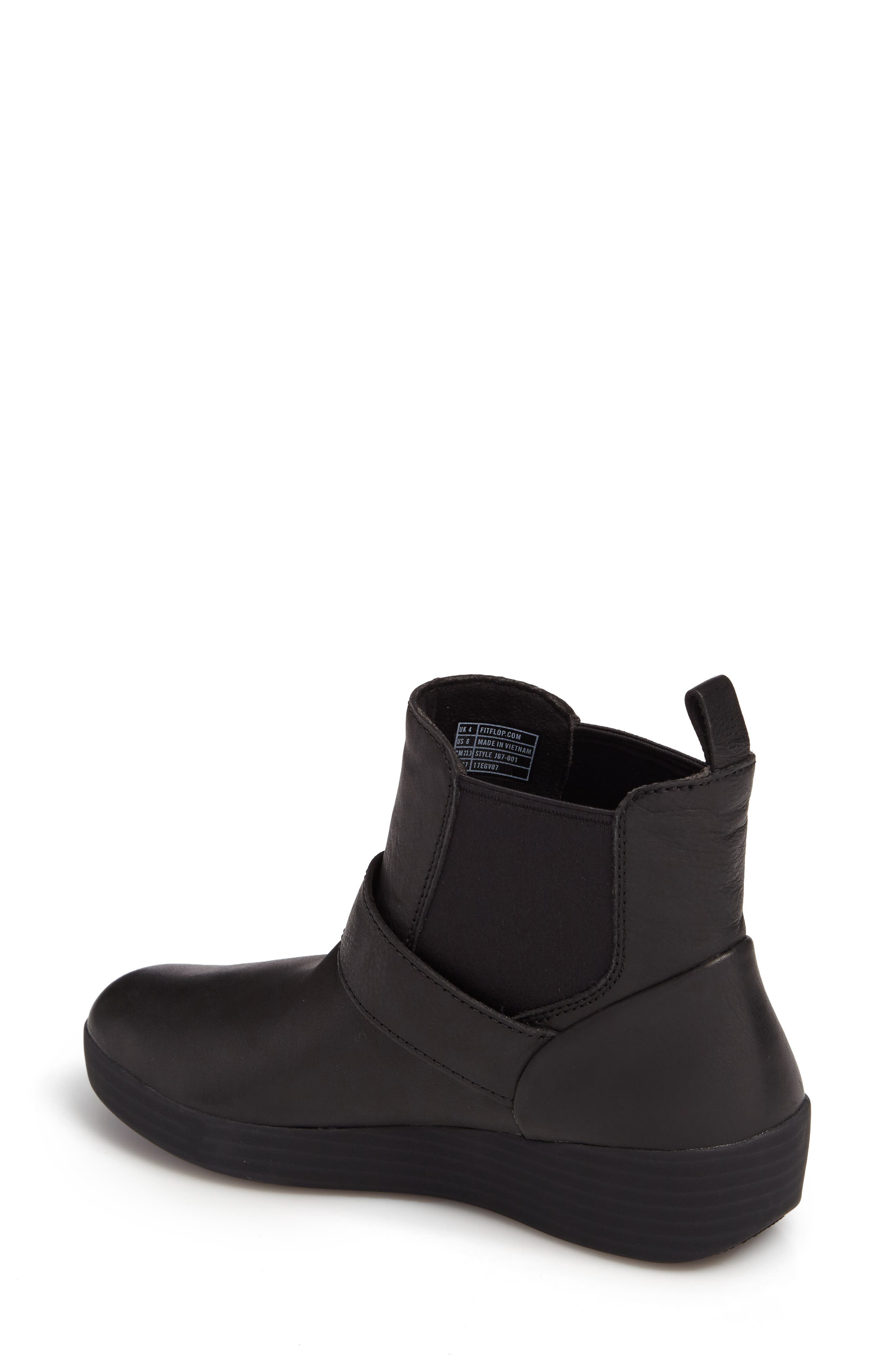 Alternate Image 2  - FitFlop Superbuckle Chelsea Boot (Women)