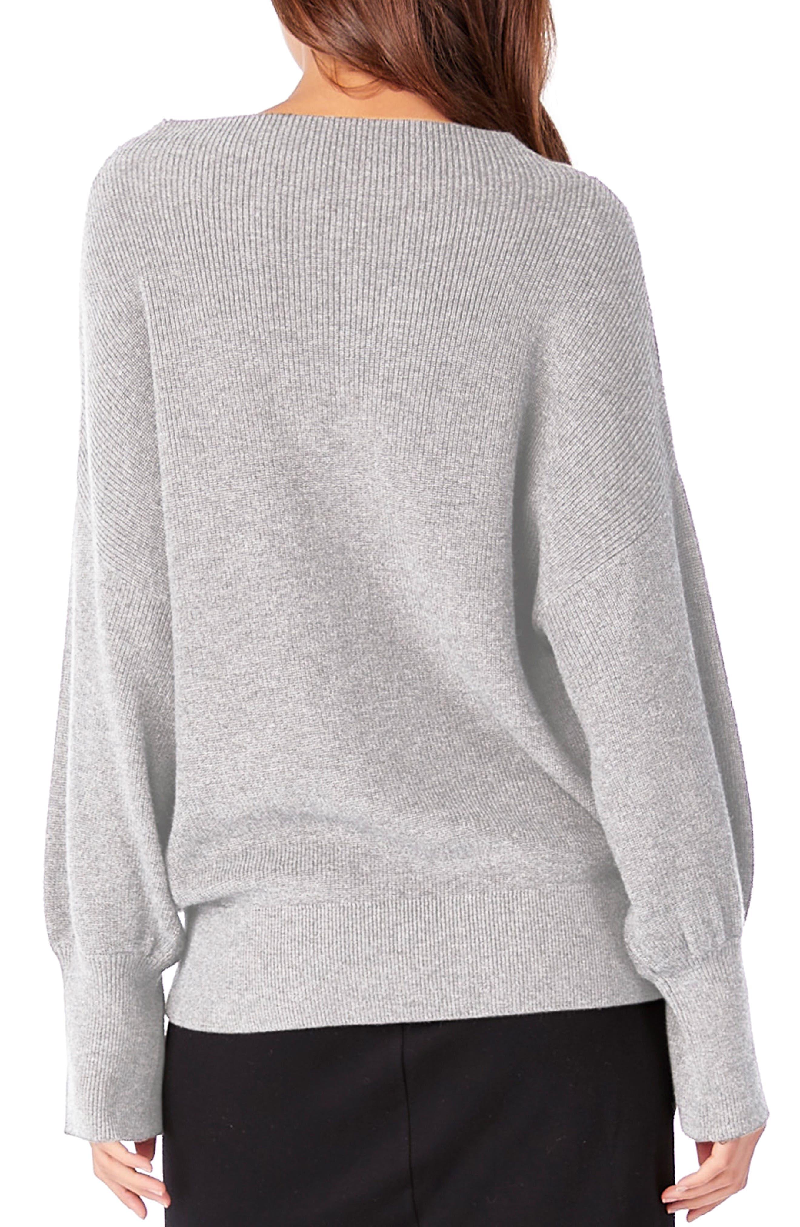 Alternate Image 2  - Michael Stars Mock Neck Dolman Sleeve Pullover
