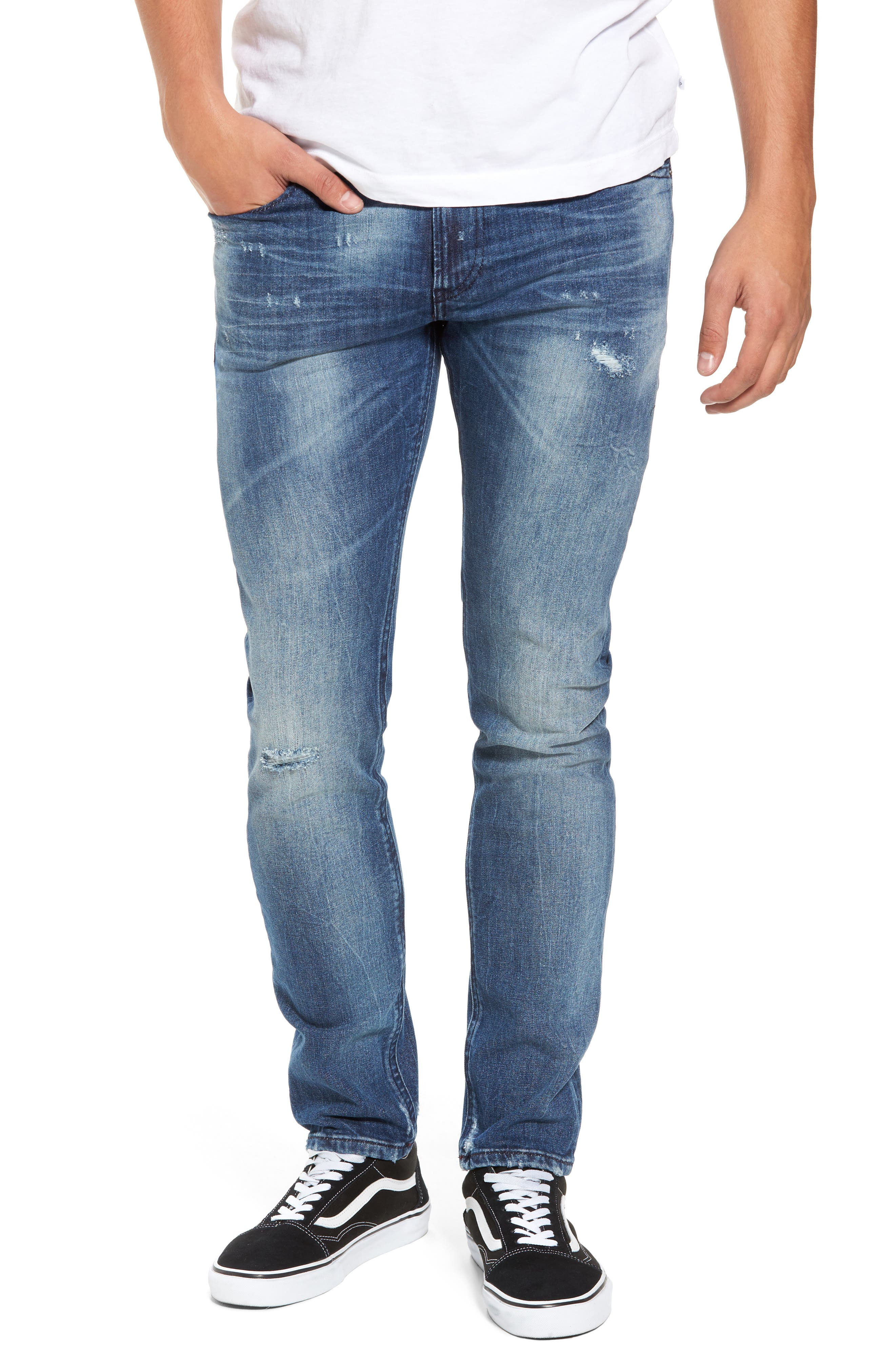 Alternate Image 1 Selected - DIESEL® Thommer Slim Fit Jeans