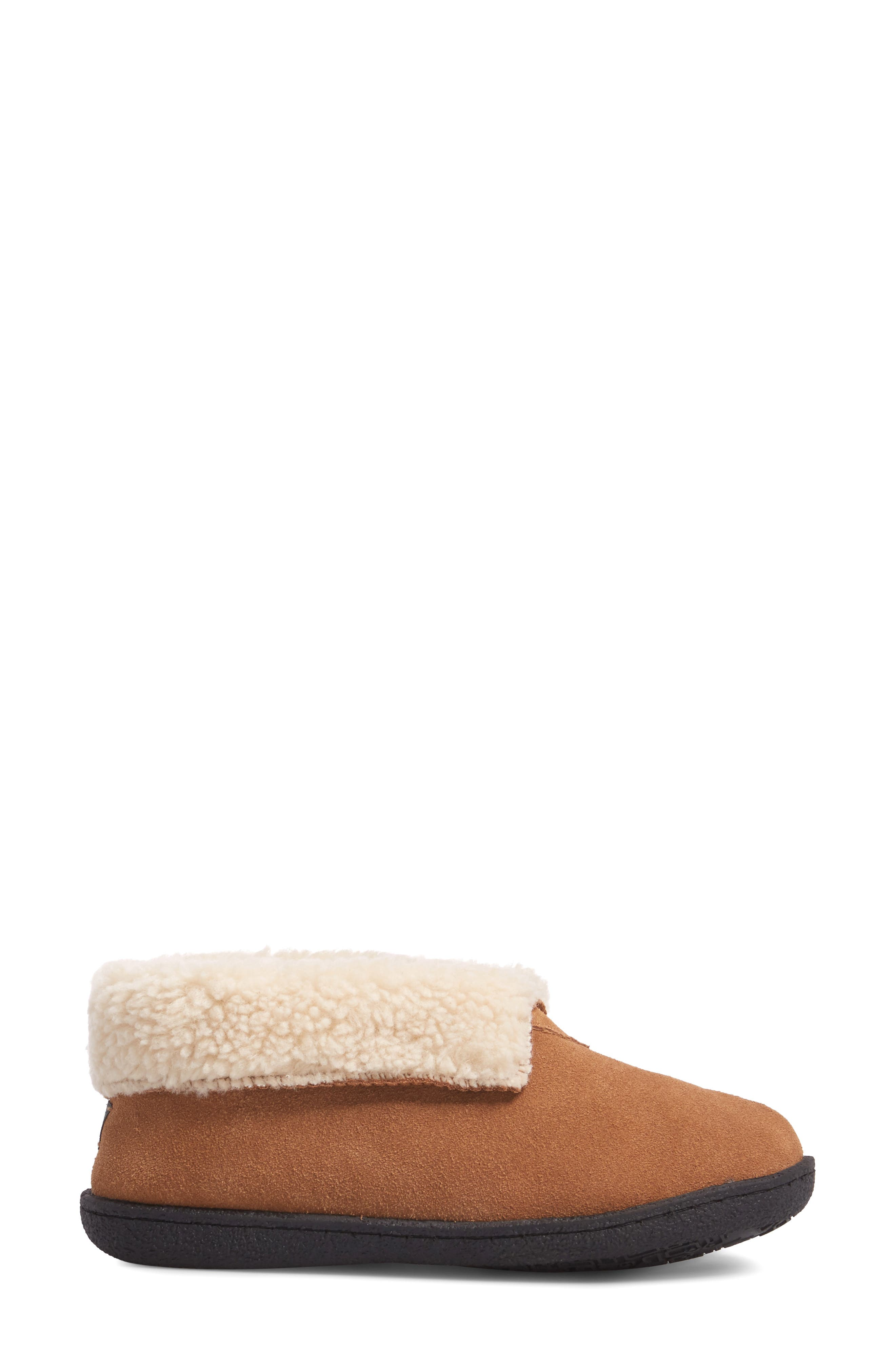 Lodge II Slipper,                             Alternate thumbnail 3, color,                             Chestnut