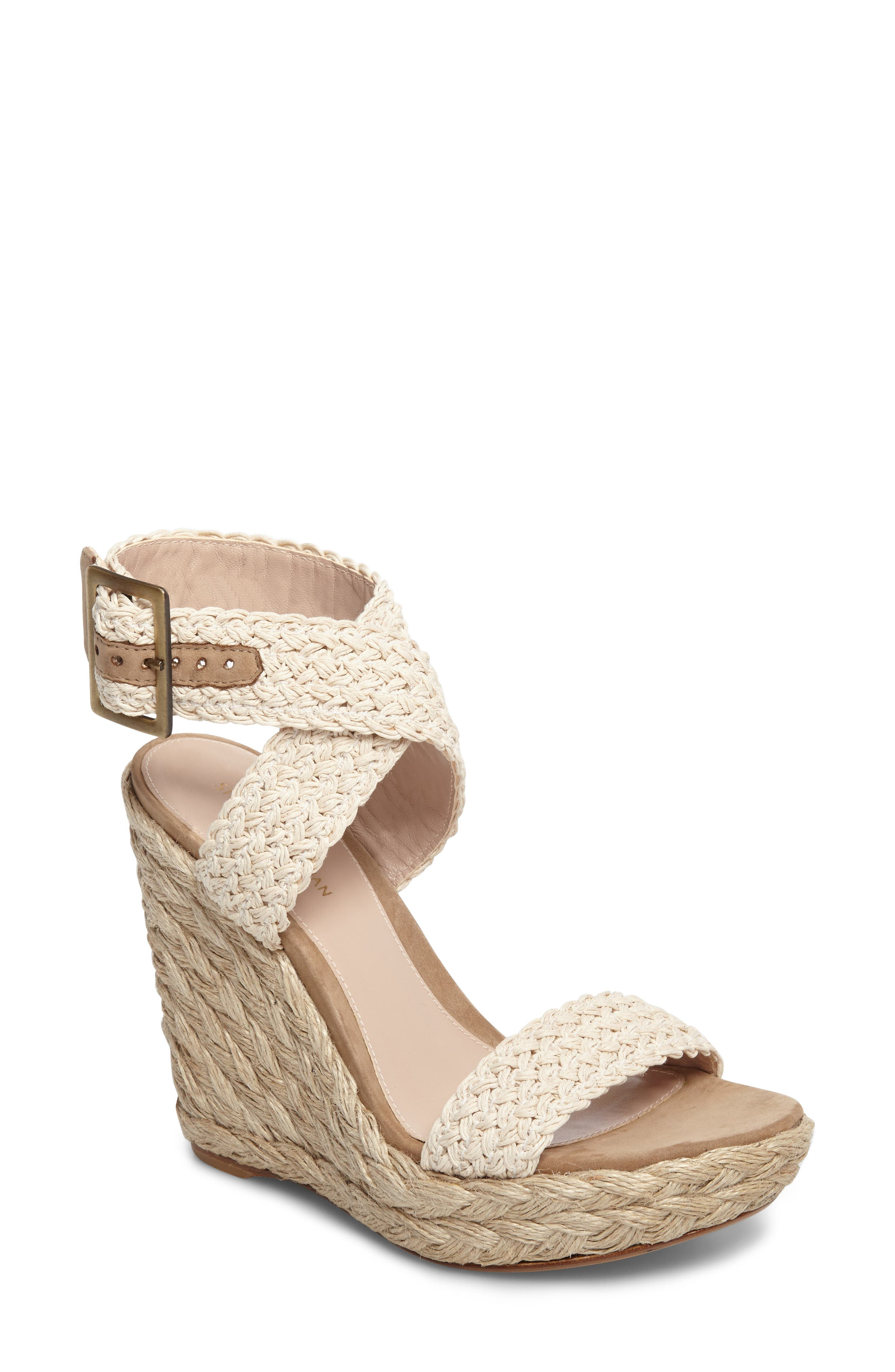 Stuart Weitzman Adventure Wedge Sandal (Women)