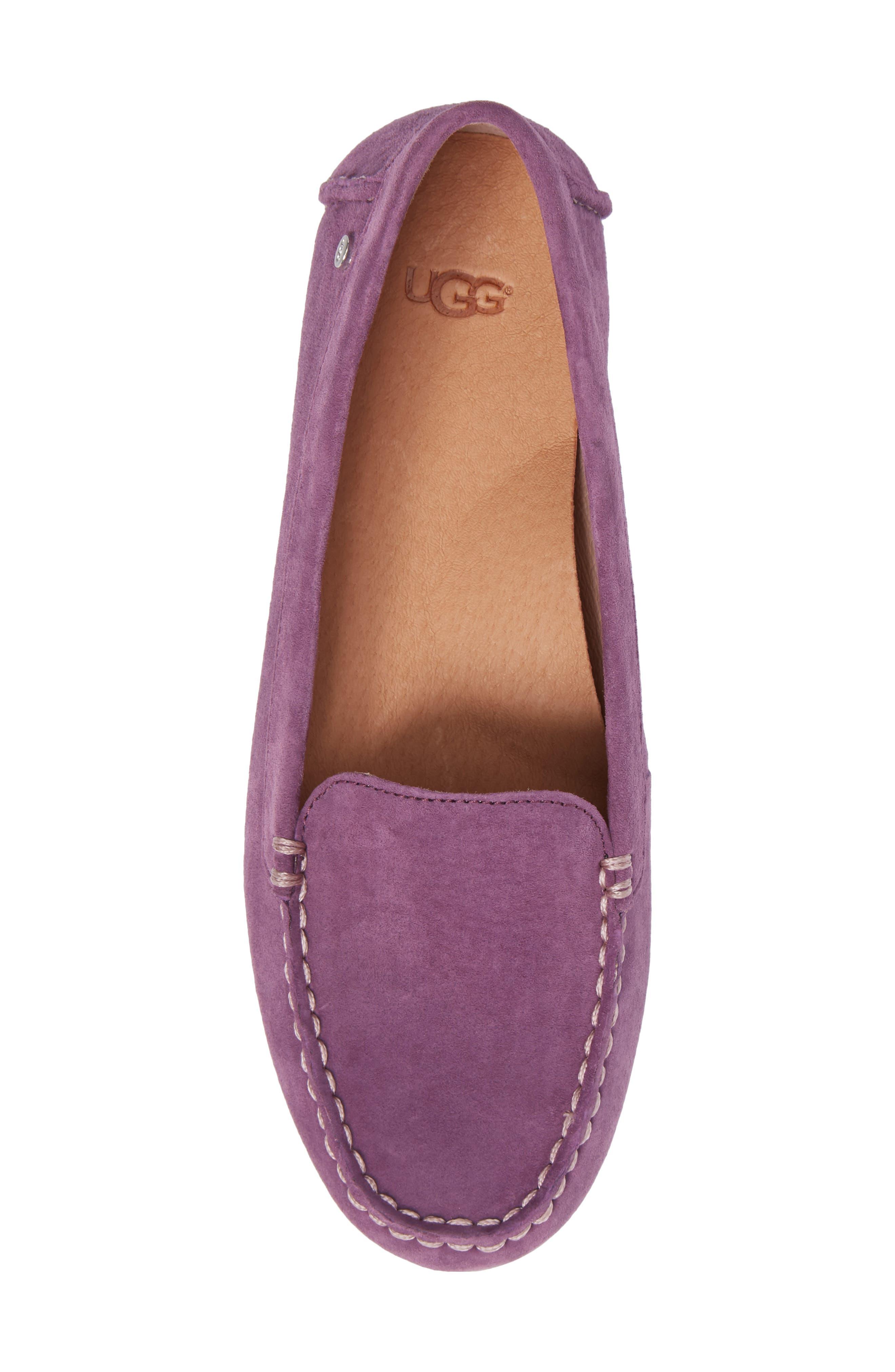 Alternate Image 5  - UGG® Milana Moc Toe Flat (Women)
