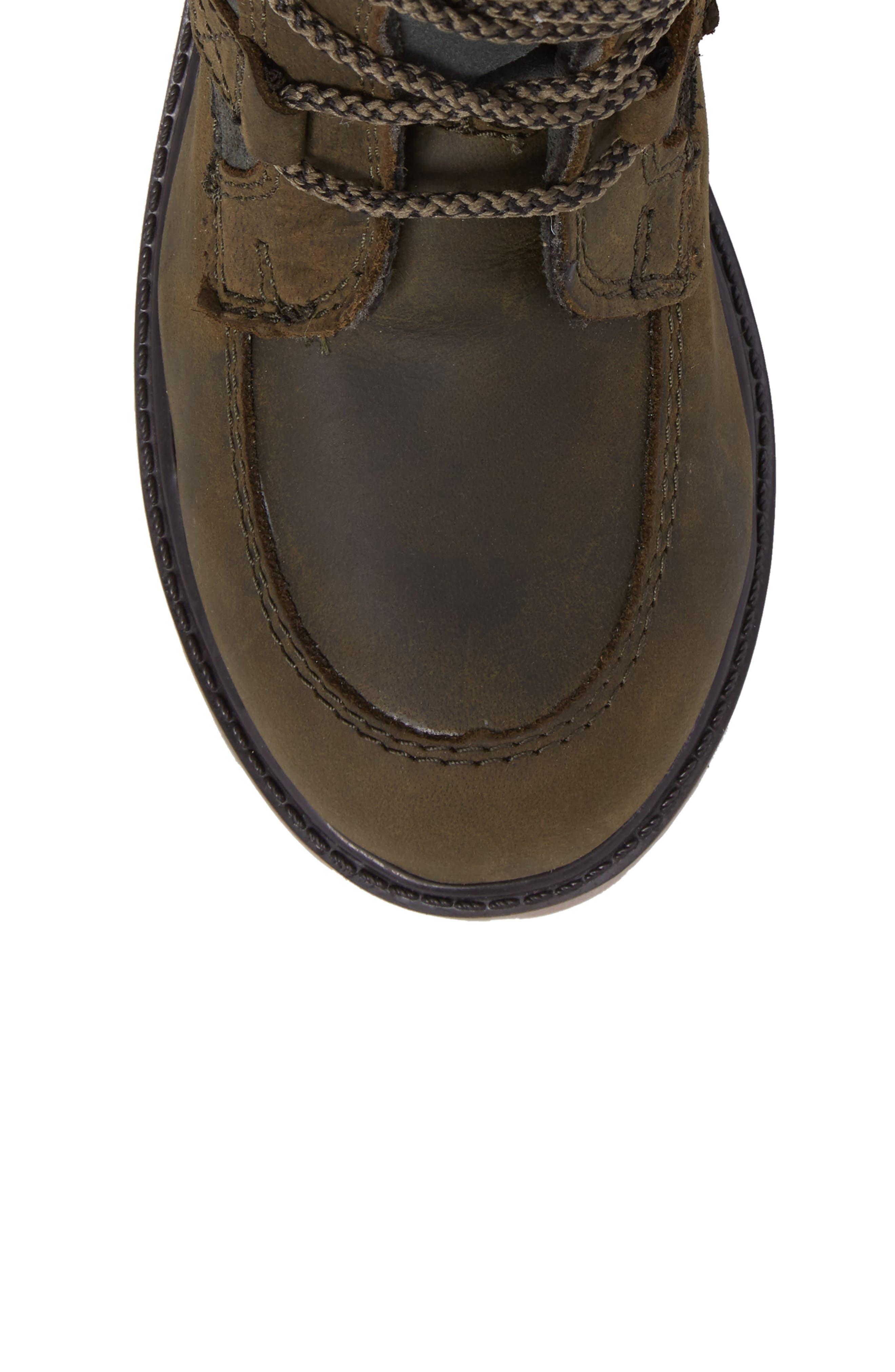 Takodalo Waterproof Boot,                             Alternate thumbnail 5, color,                             Olive