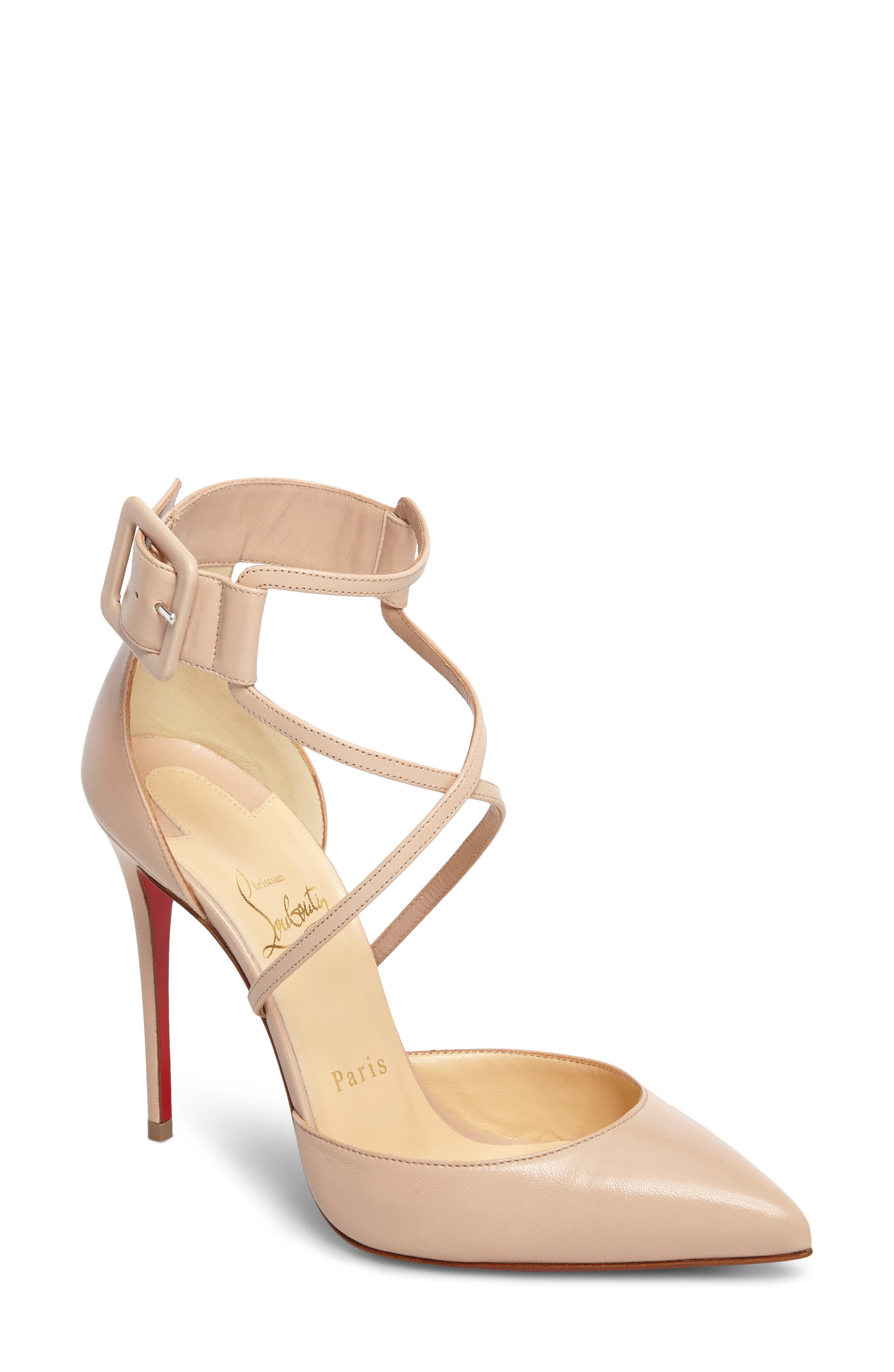 Alternate Image 1 Selected - Christian Louboutin 'Suzanna' Pointy Toe Pump