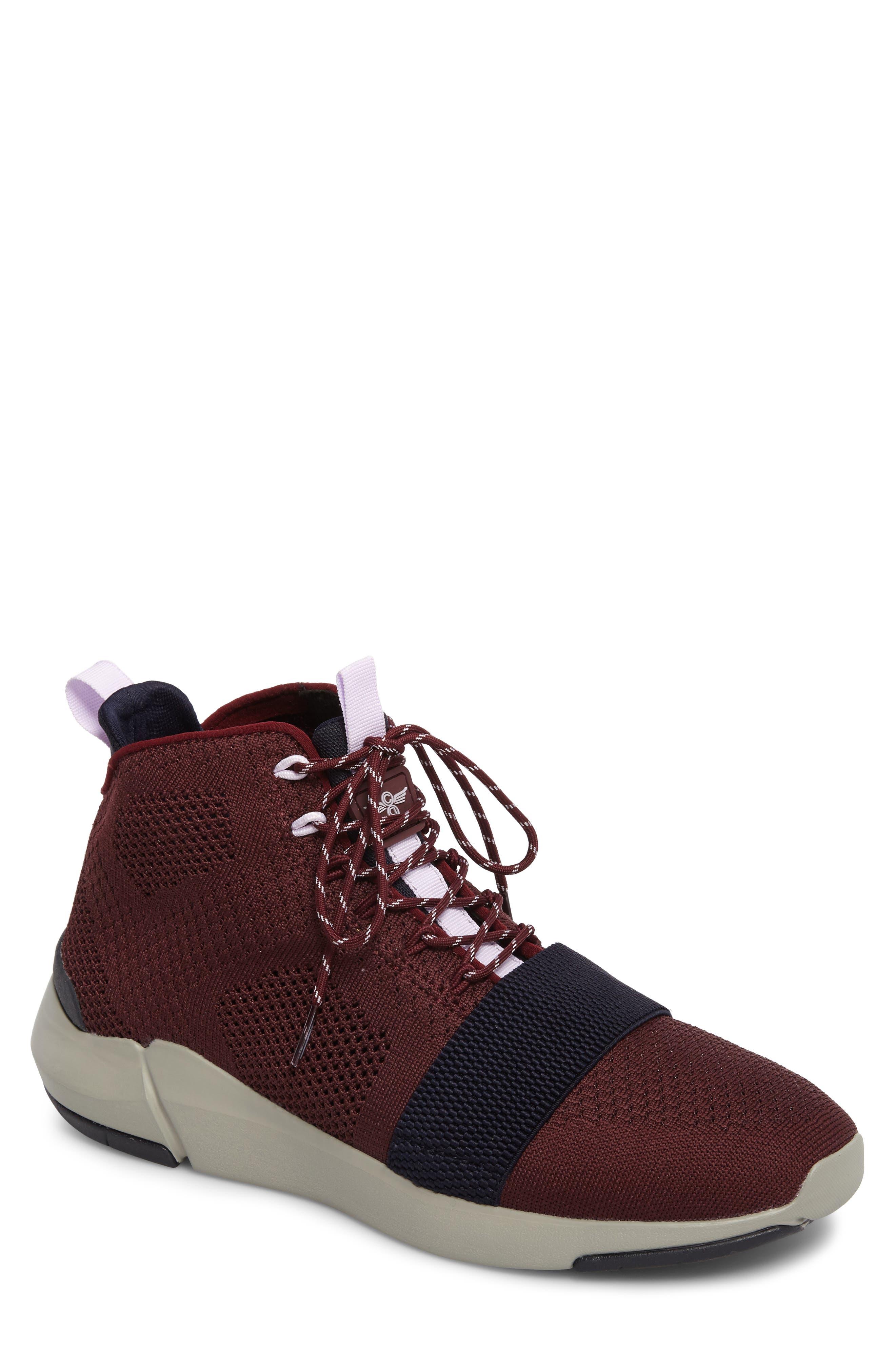 Modica Sneaker,                         Main,                         color, Dark Burgundy Navy